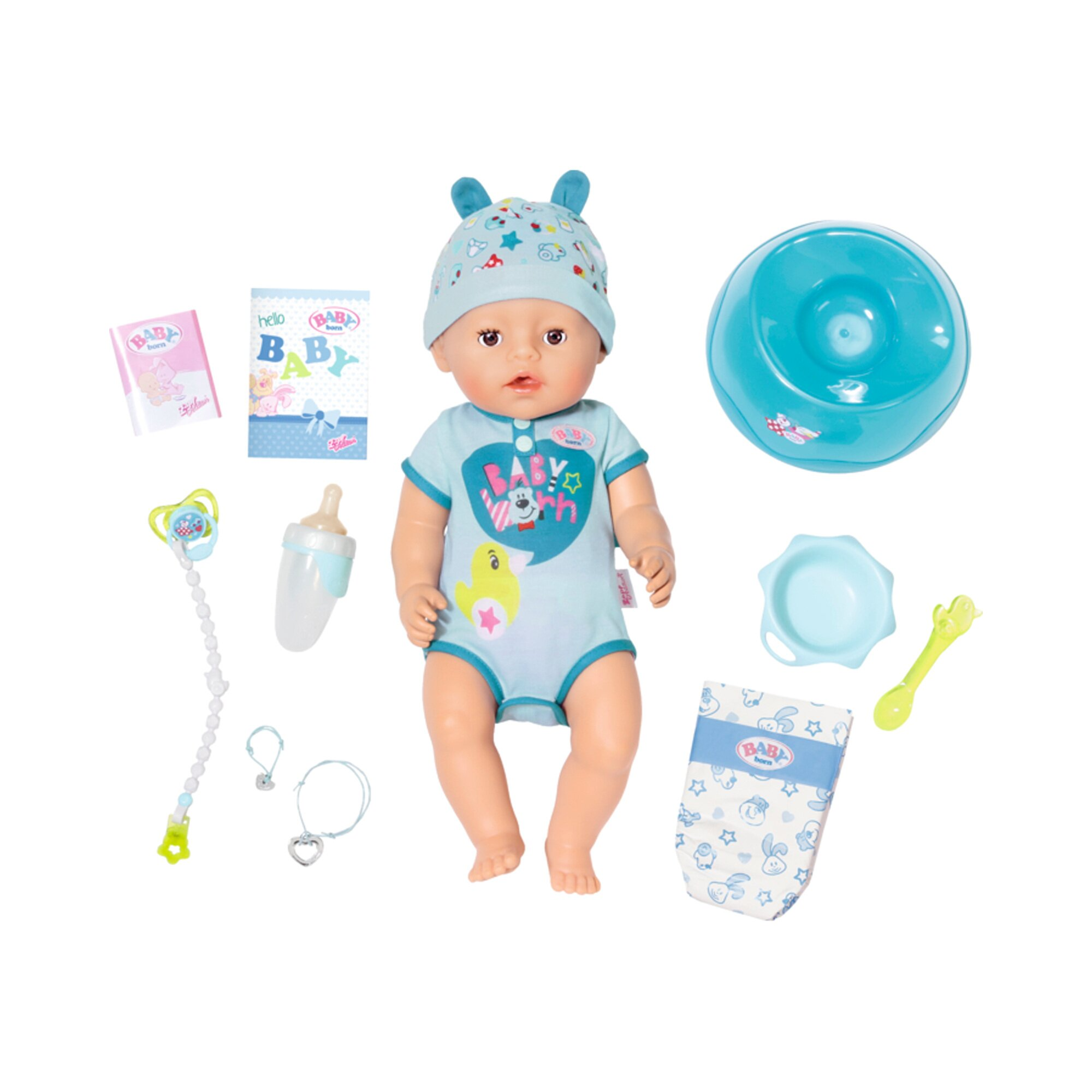 Baby Born Puppe Soft Touch Boy 43cm
