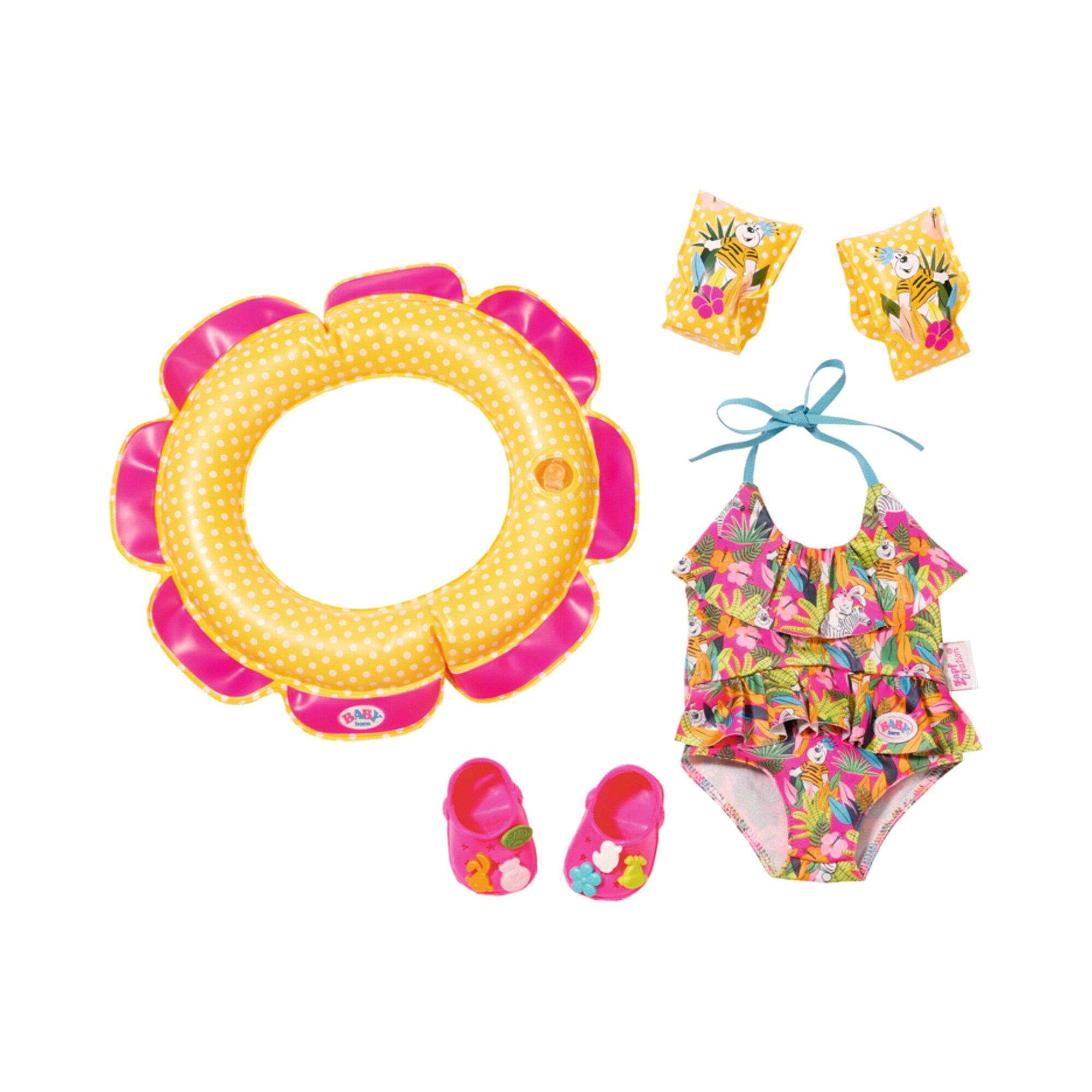 Baby Born Puppen Outfit Schwimmspaß Set