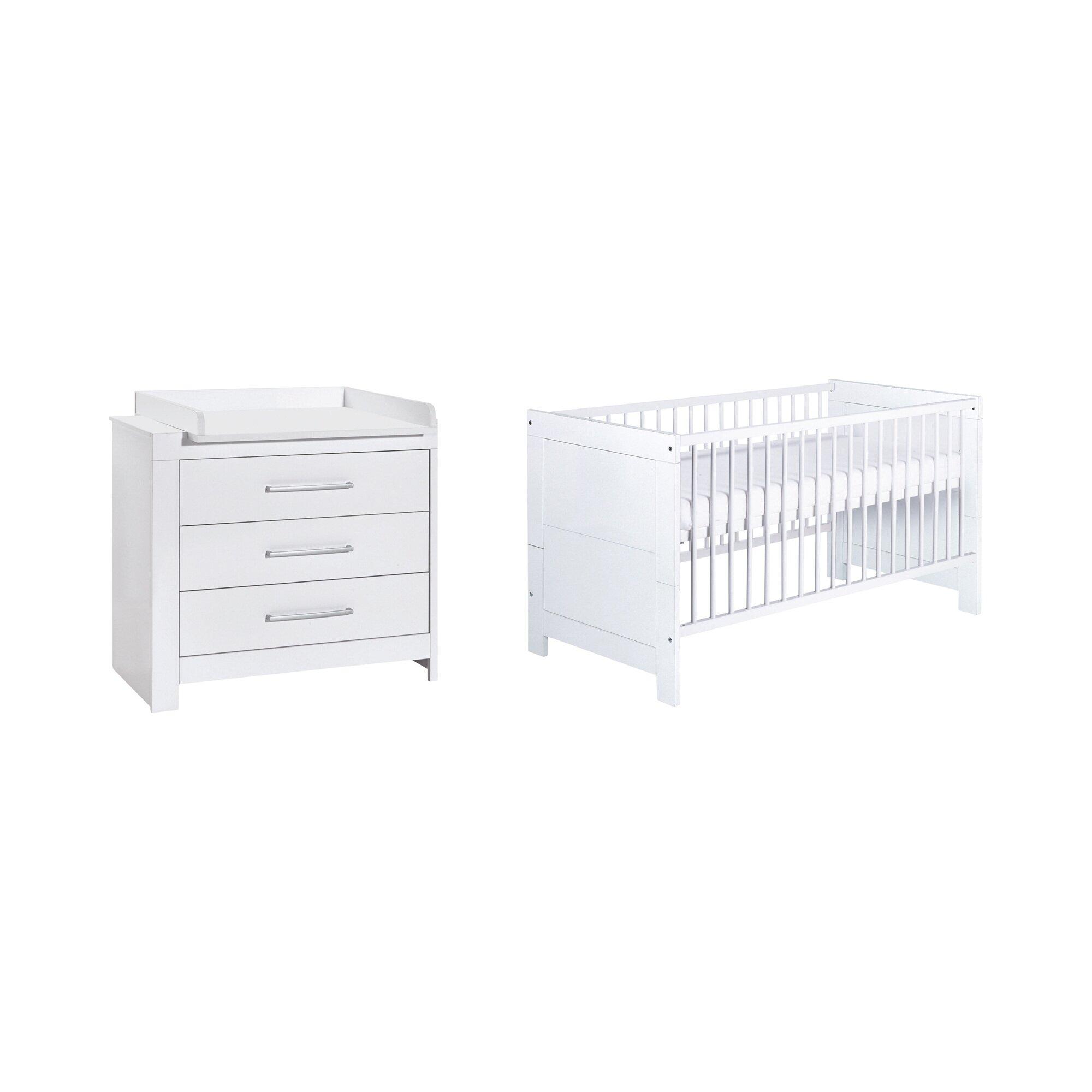Schardt 2-tlg. Babyzimmer Nordic White