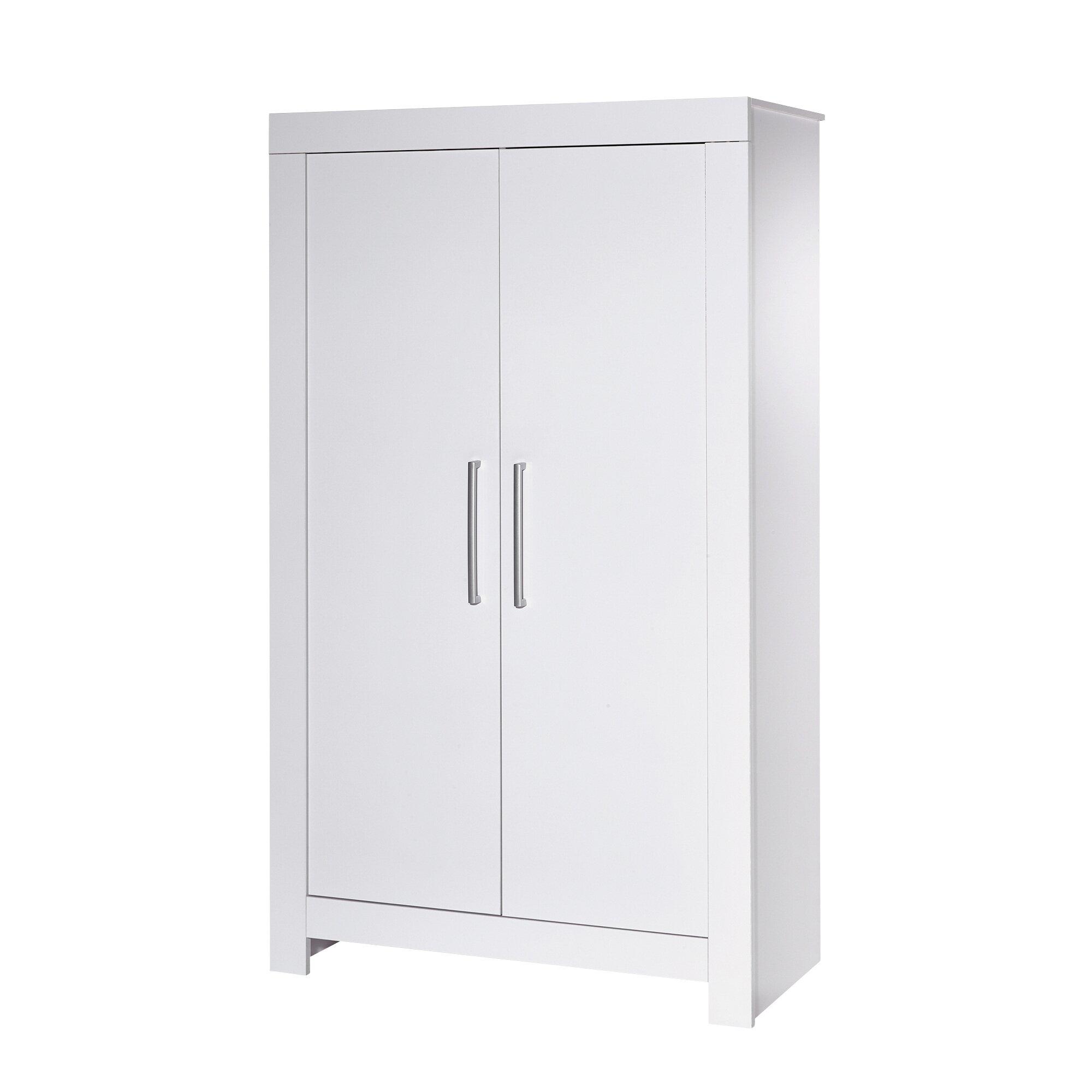 Schardt Kleiderschrank Nordic White 2-türig