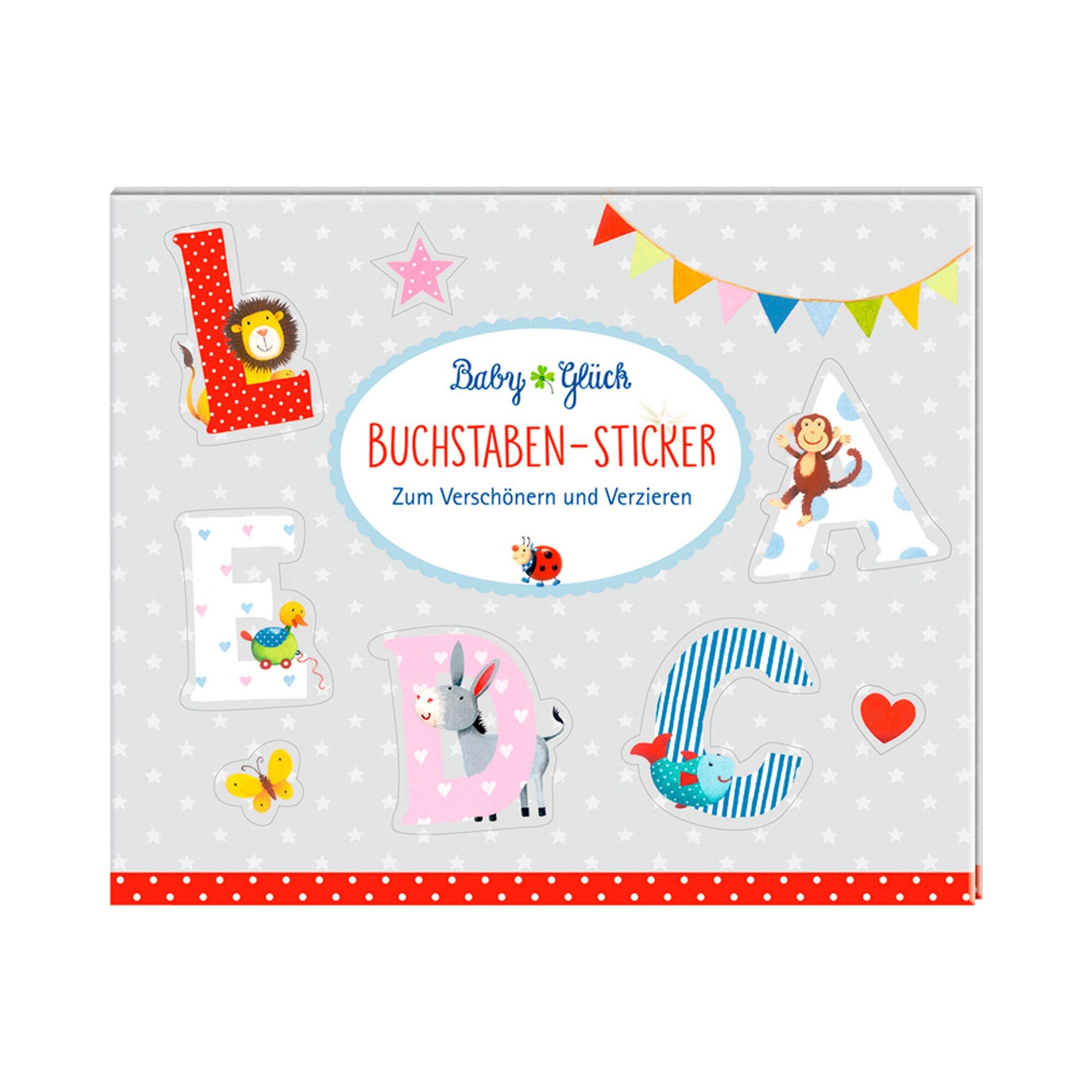 Coppenrath Die Spiegelburg Stickerbuch Buchstaben-Sticker BabyGlück