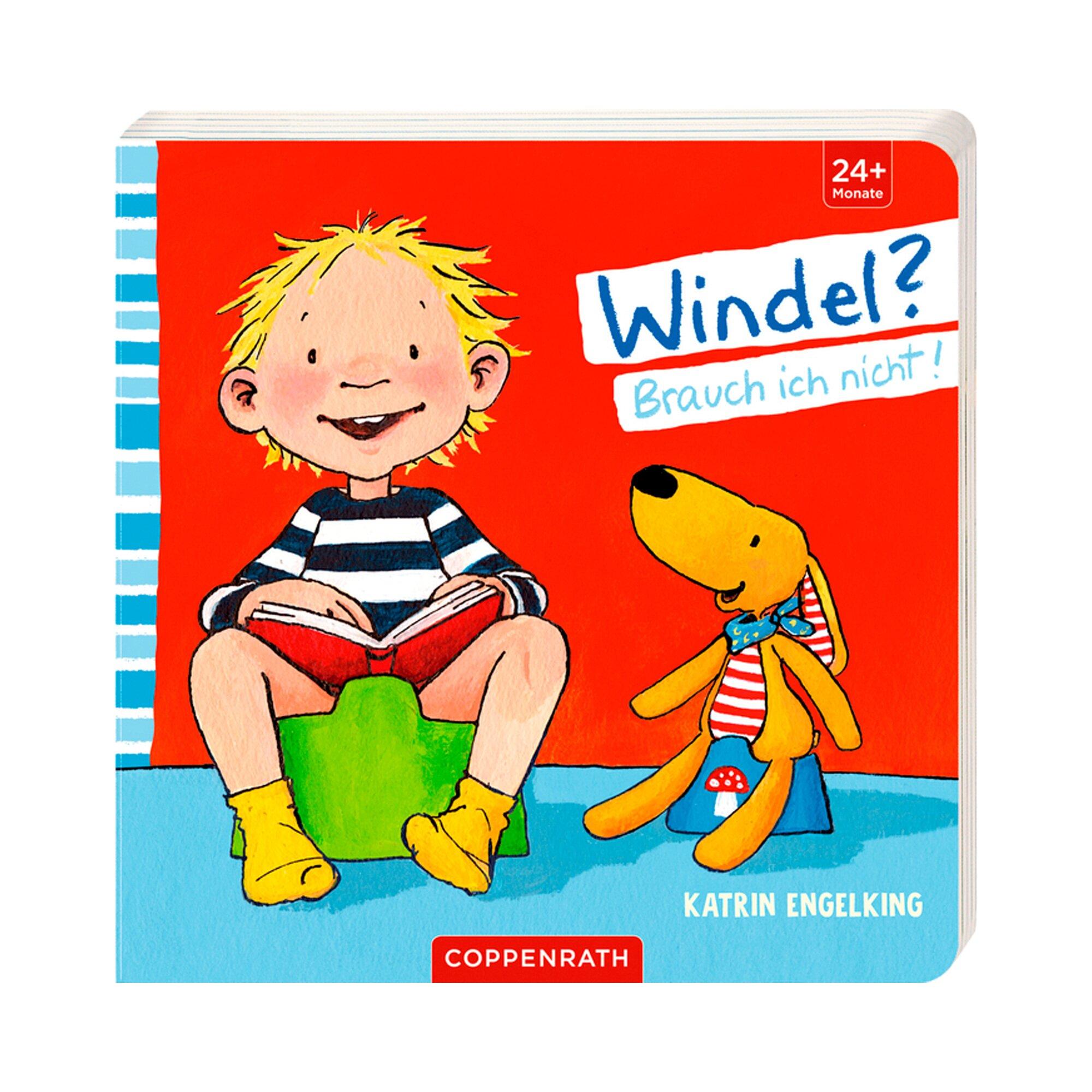 Coppenrath Die Spiegelburg Pappbilderbuch Windel? Brauch ich nicht!