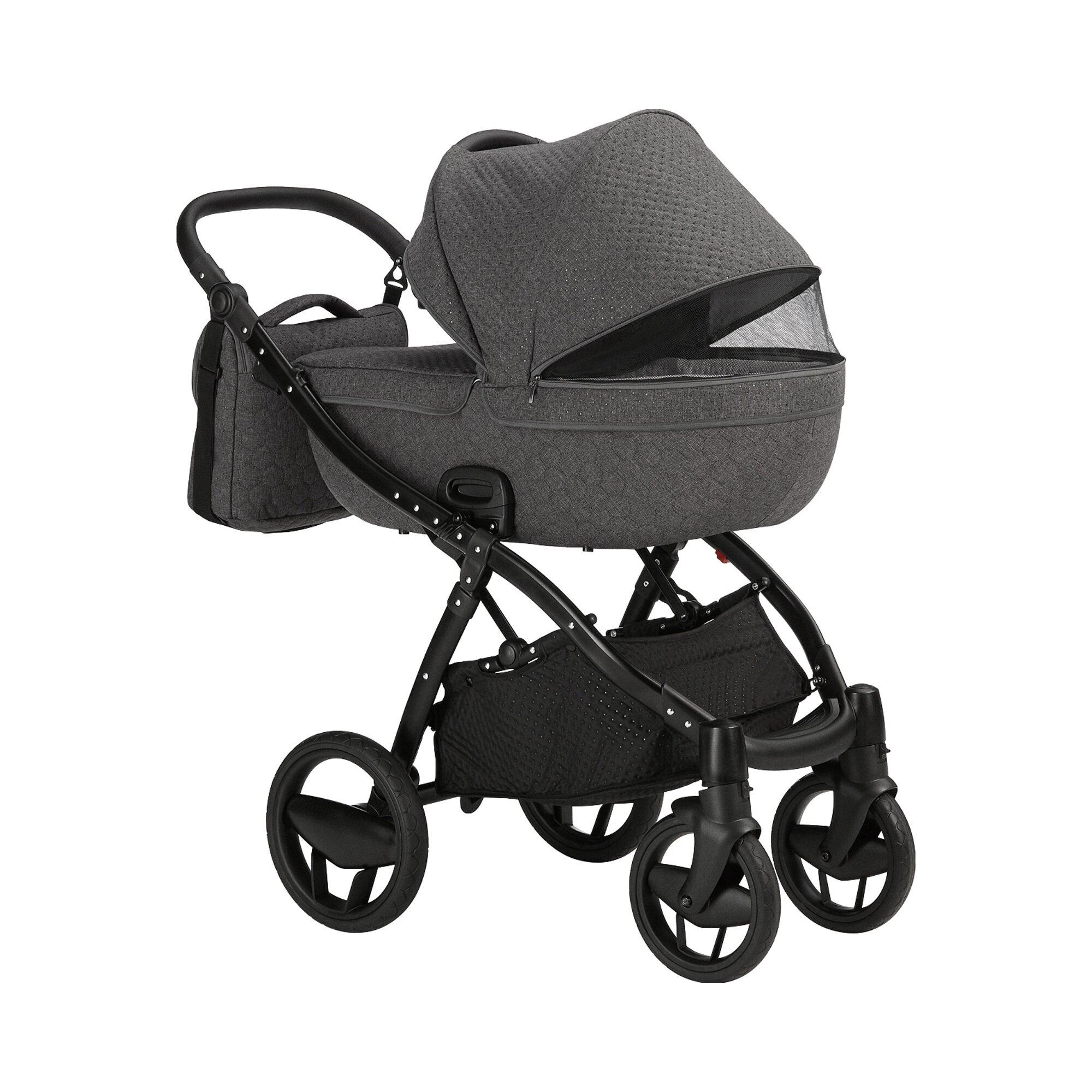 knorr-baby-piquetto-kombikinderwagen-grau