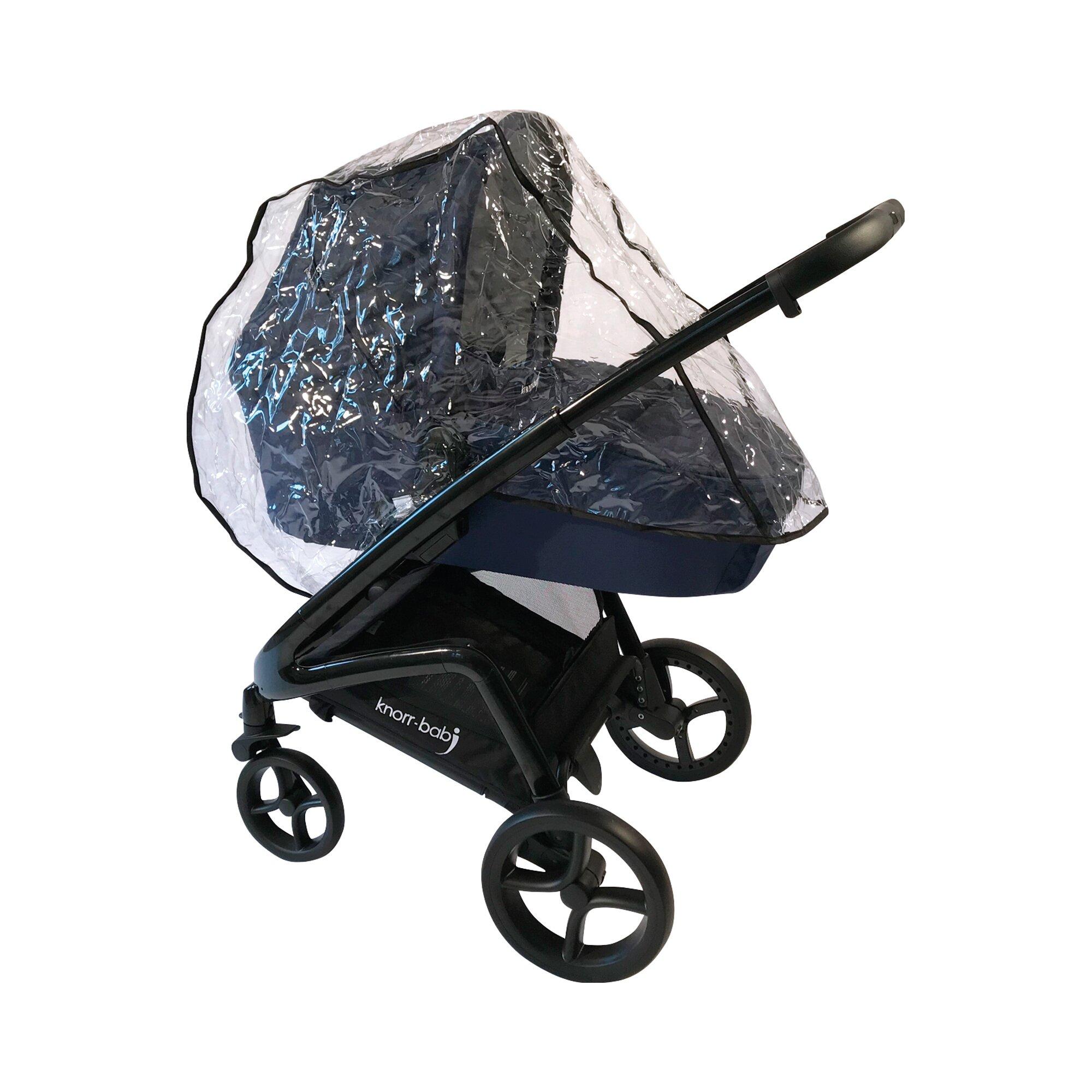 Knorr-Baby Regenschutz für Kombikinderwagen transparent
