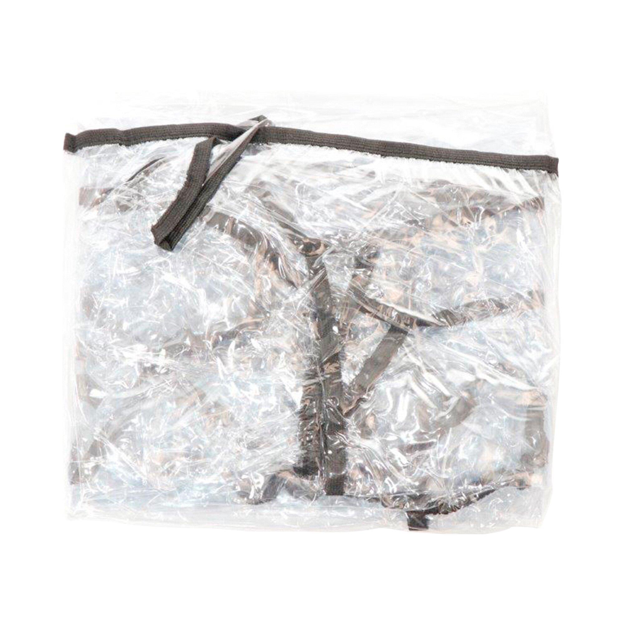 Premium Regenschutz silber