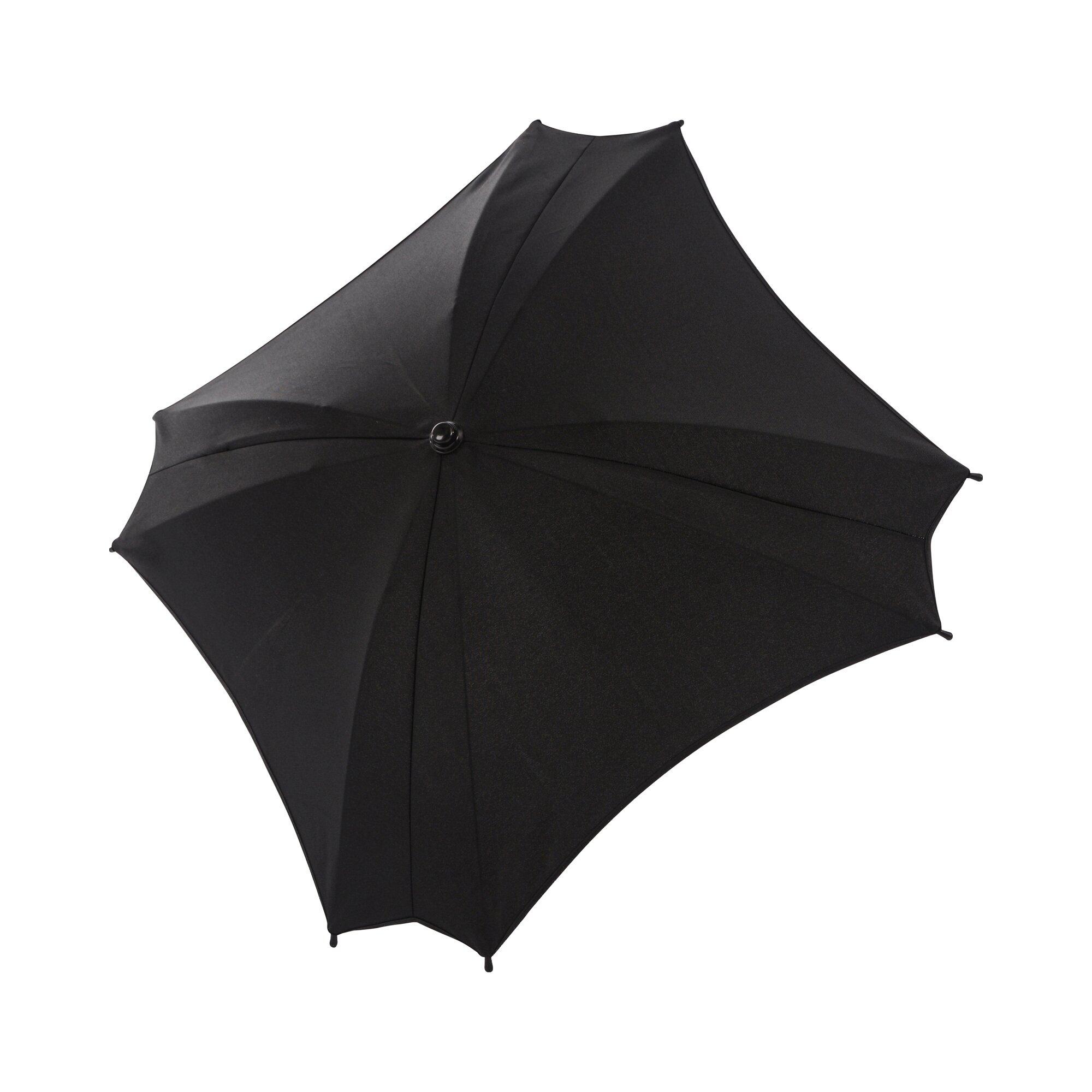 Premium Sonnenschirm schwarz
