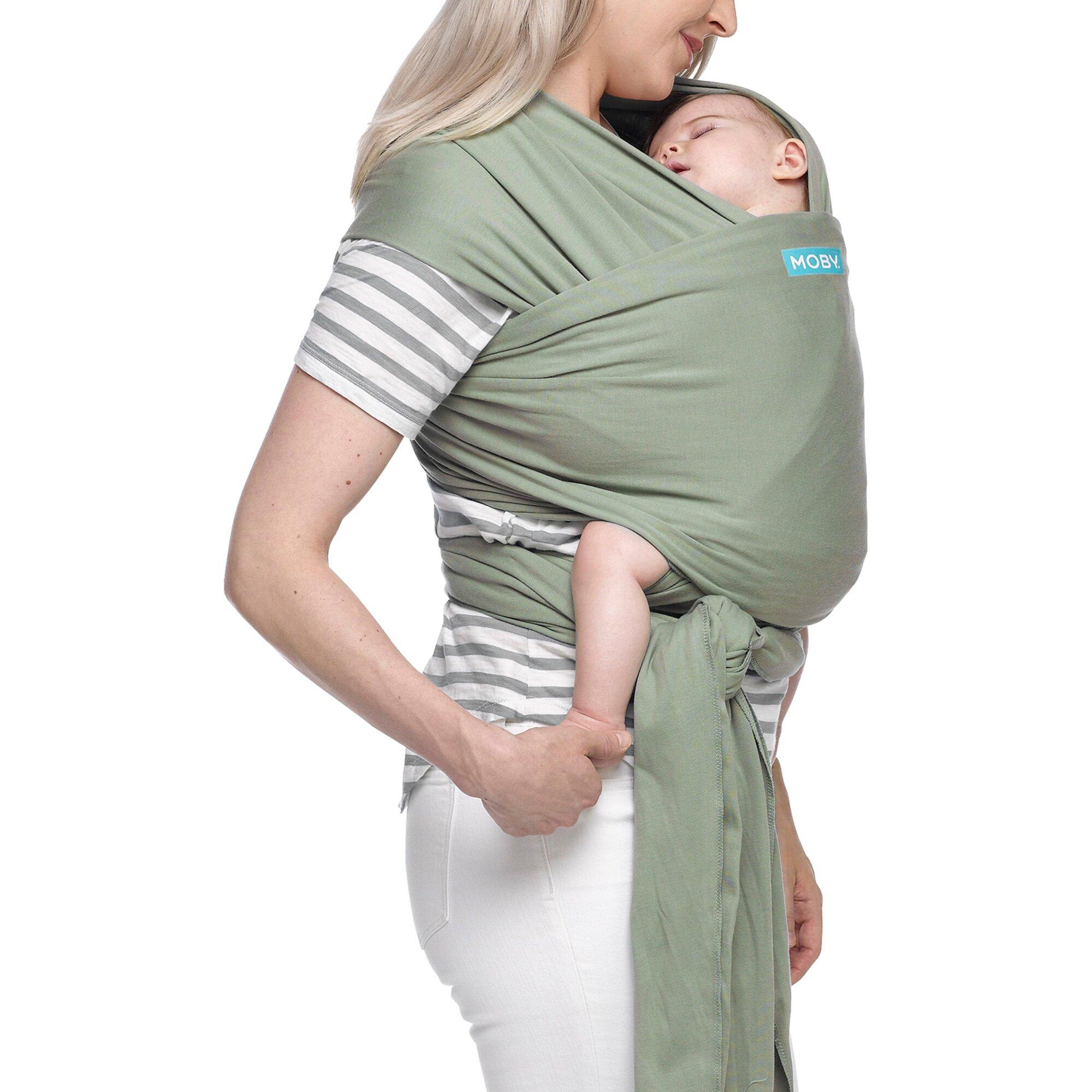 moby-wrap-classic-babytragetuch-550cm-gruen