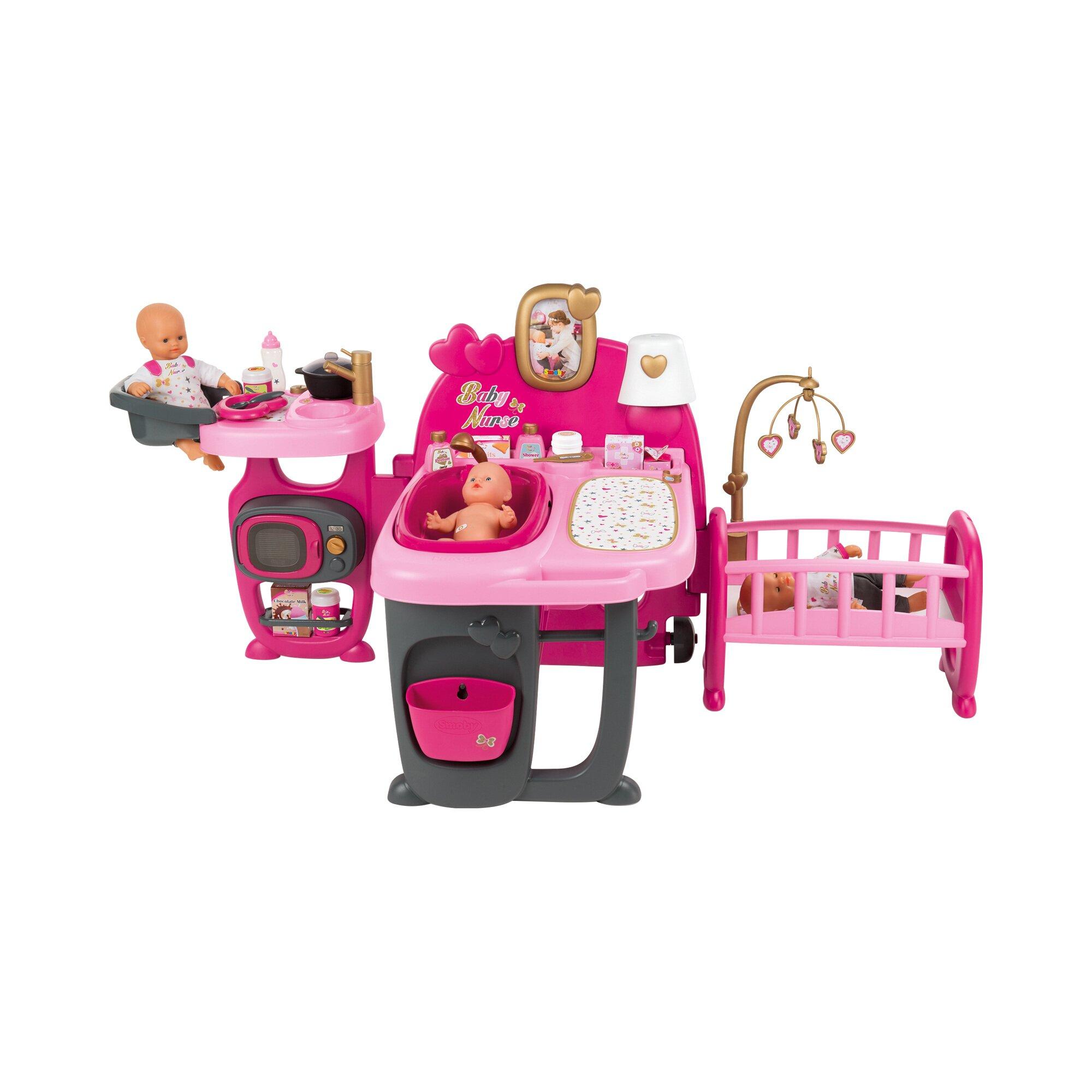 Smoby Puppen-Spielcenter Baby Nurse