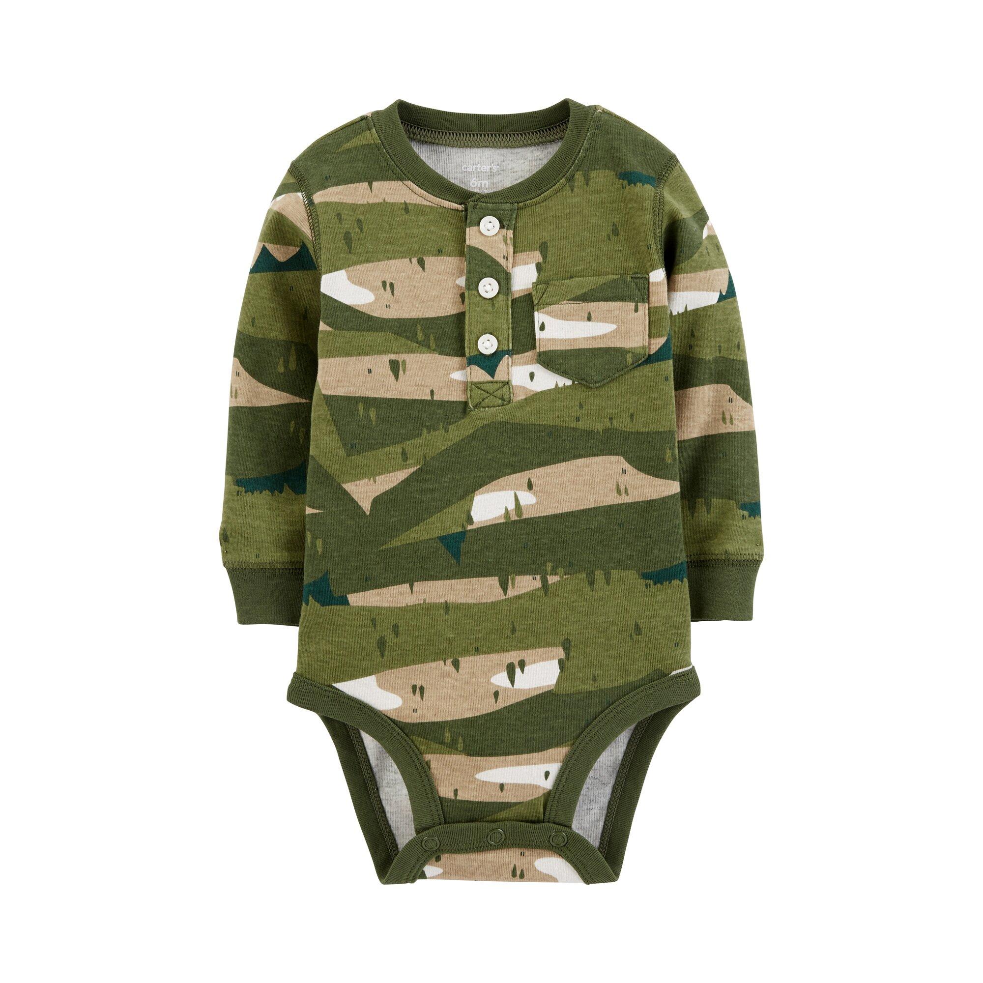Carter´S Body langarm Camouflage