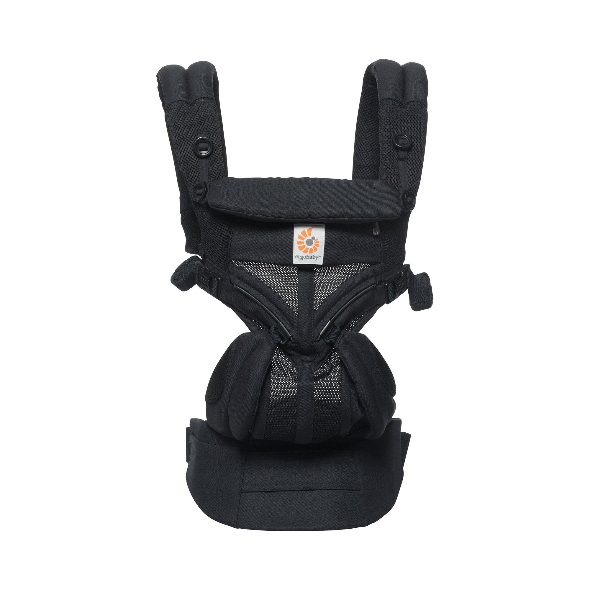 omni-360-cool-air-mesh-babytrage-4-tragepositionen-schwarz, 166.99 EUR @ babywalz-de