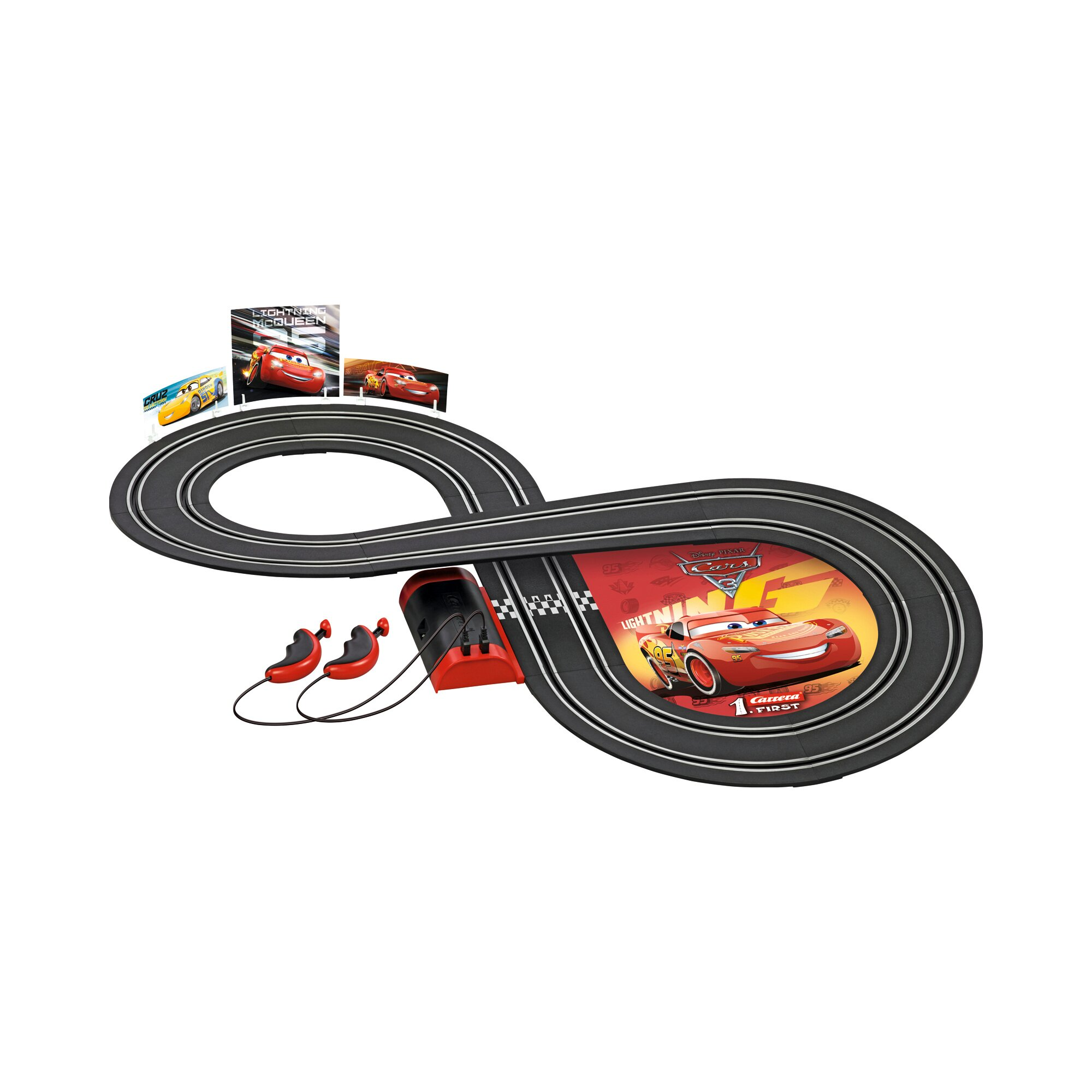 Disney Cars 3 Auto-Rennbahn Carrera First Cars