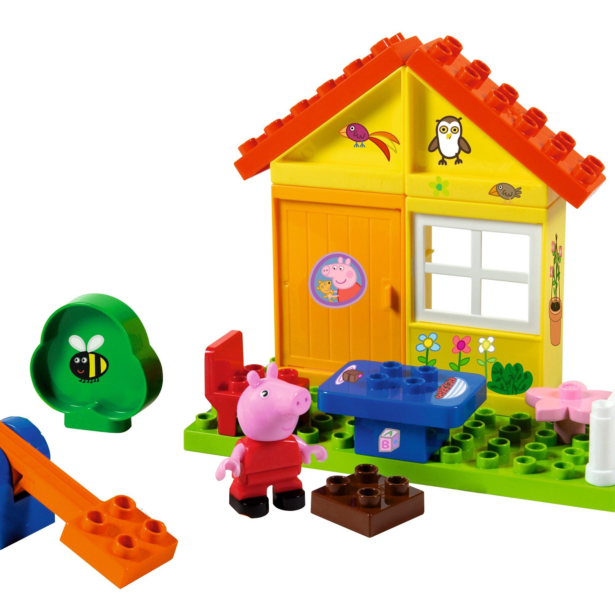 Bloxx Baustein-Set Peppa Pig Gartenhaus