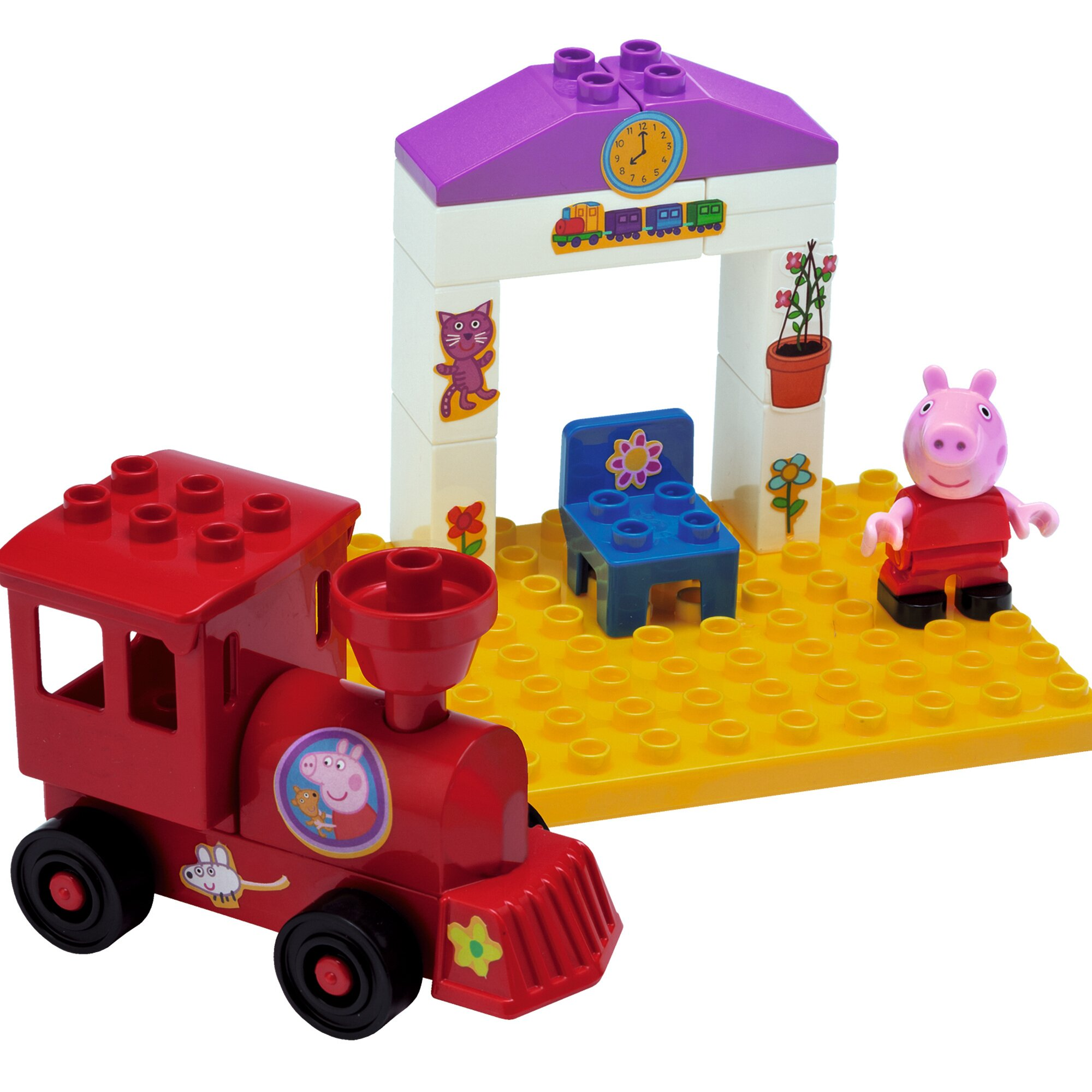 Bloxx Baustein-Set Peppa Pig Bahnhof