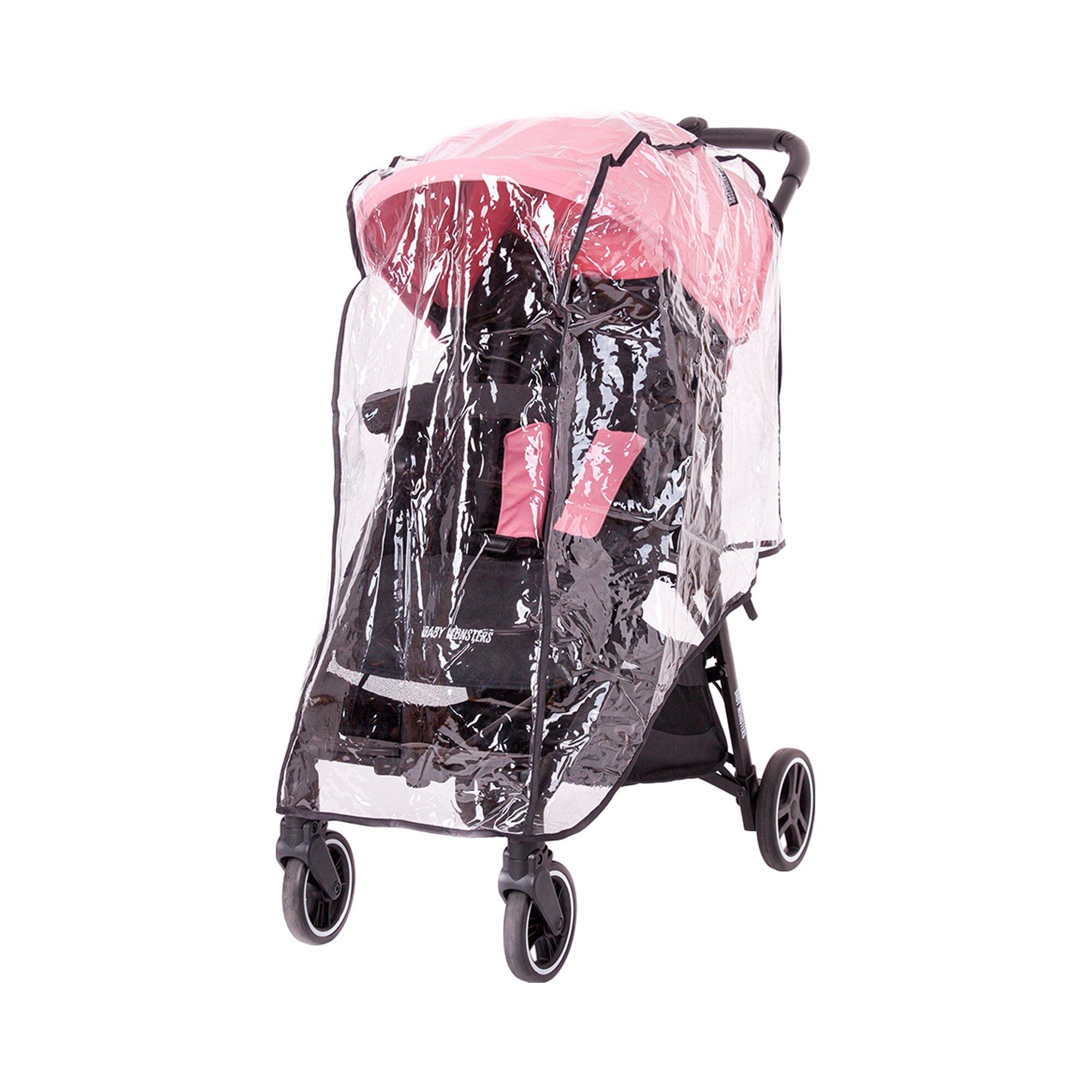 Baby Monsters Regenschutz für Kuki Single transparent