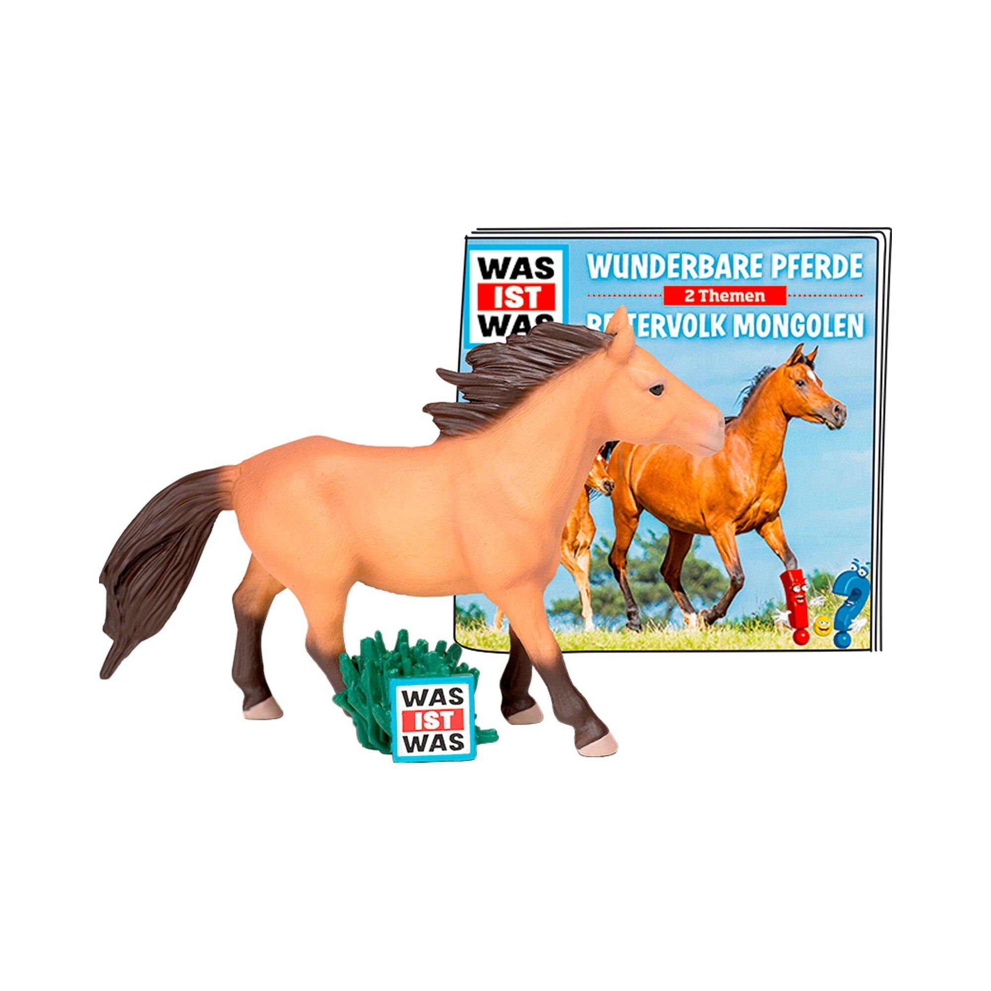 Tonies Tonie Hörfigur WAS IST WAS - Wunderbare Pferde/Reitervolk Mongolen