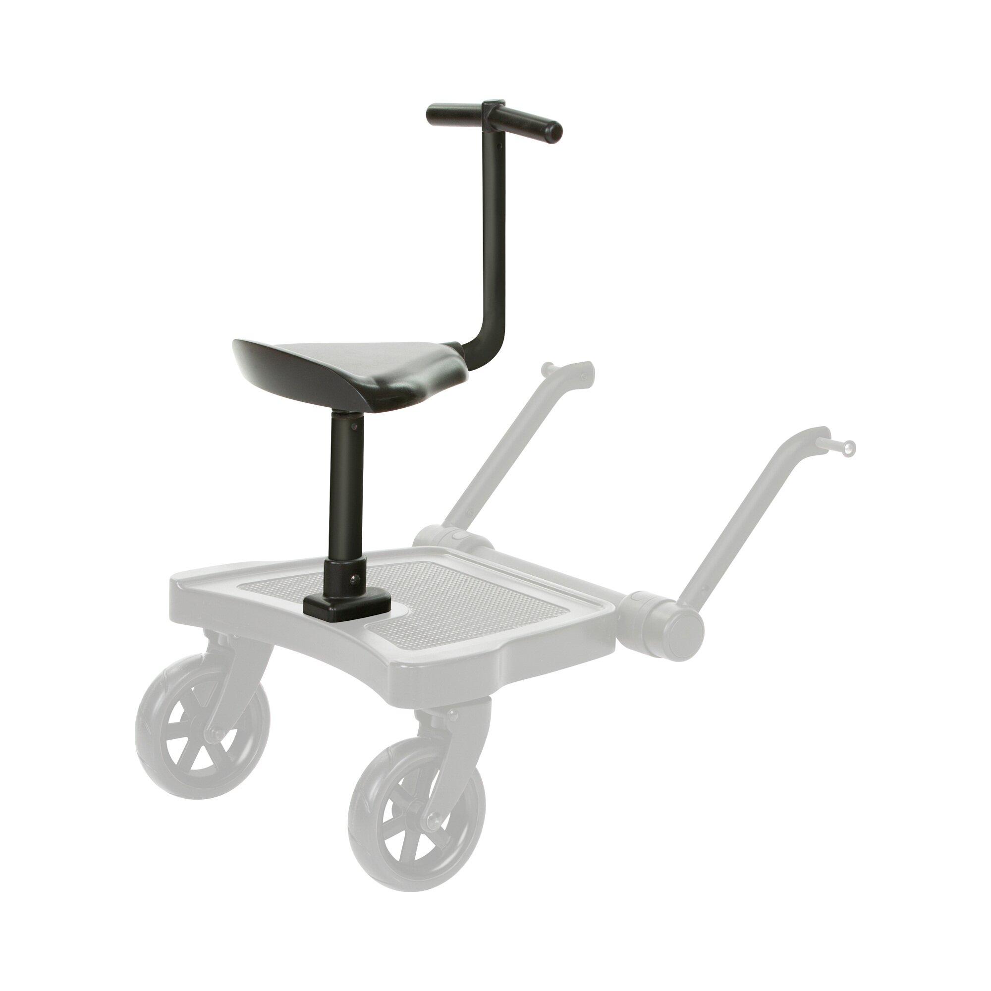 Abc Design Sitzbrett für Trittbrett Kiddie Ride On 2 schwarz