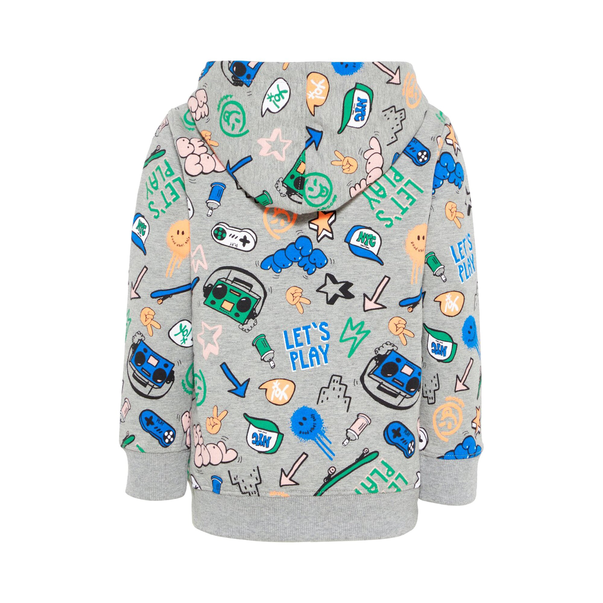 name-it-sweatjacke-let-s-play