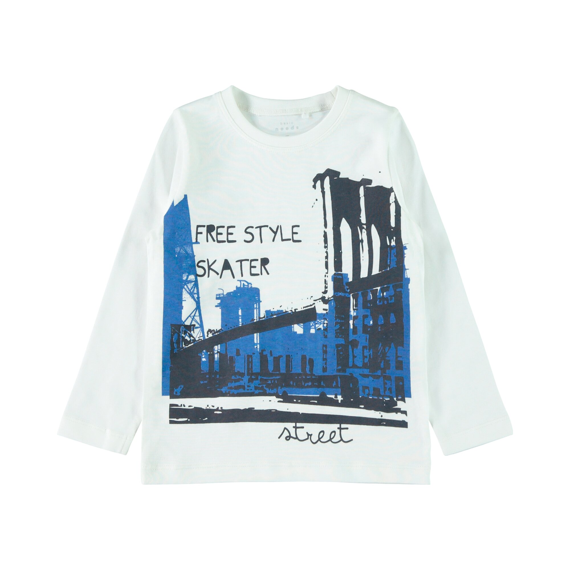 Name It Shirt langarm Free Style Skater