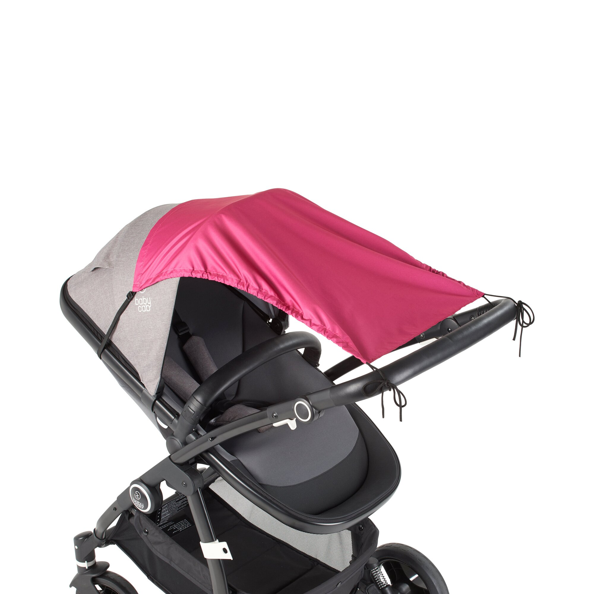 Babycab Sonnensegel mit UV-Schutz 50+ pink