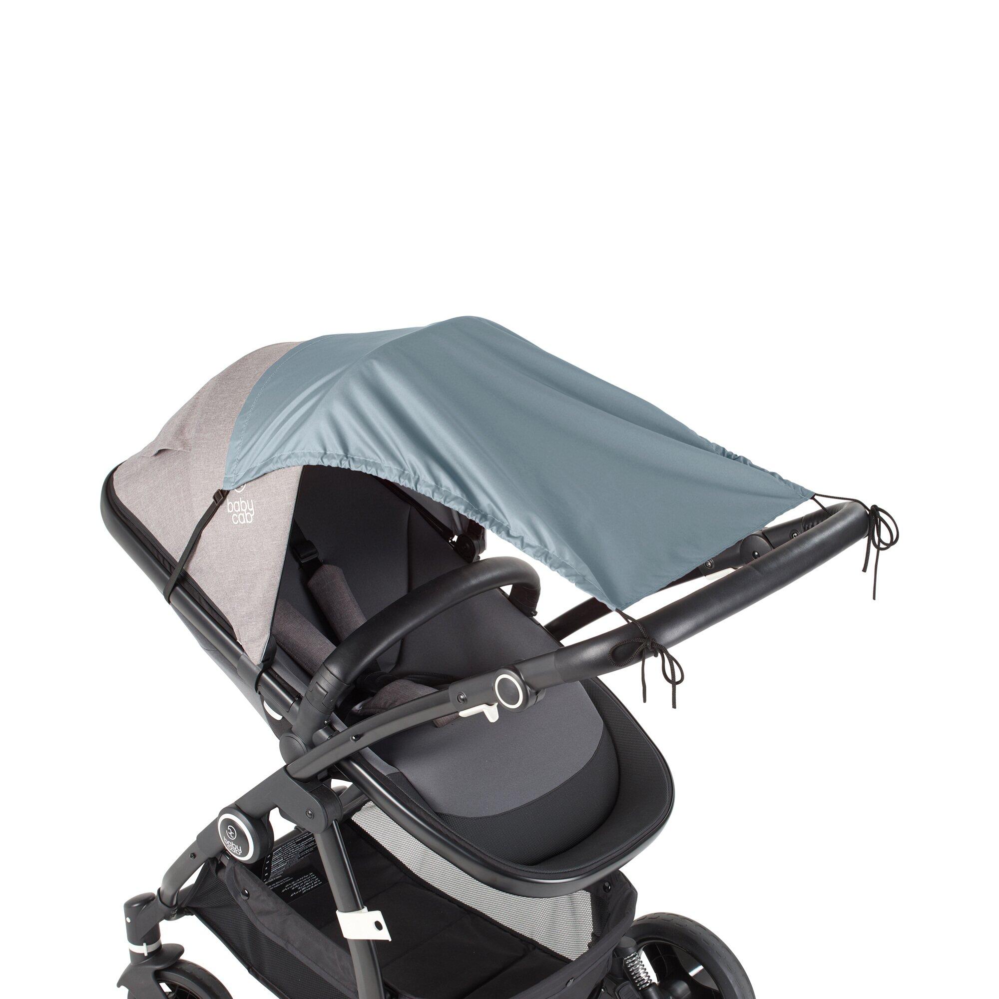 Babycab Sonnensegel mit UV-Schutz 50+ hellblau