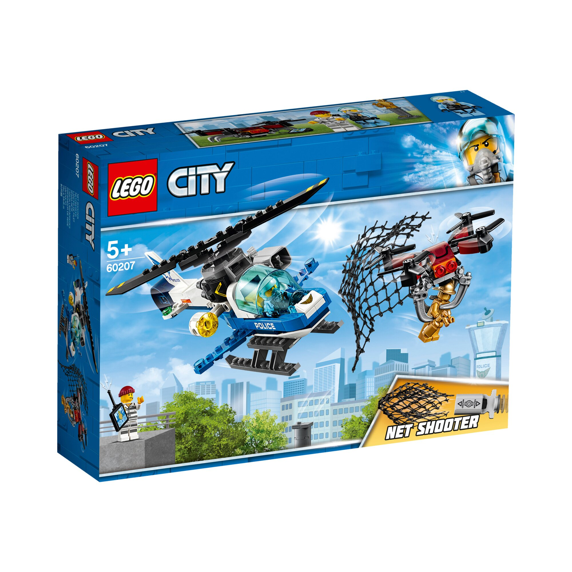 City 60207 Polizei Drohnenjagd