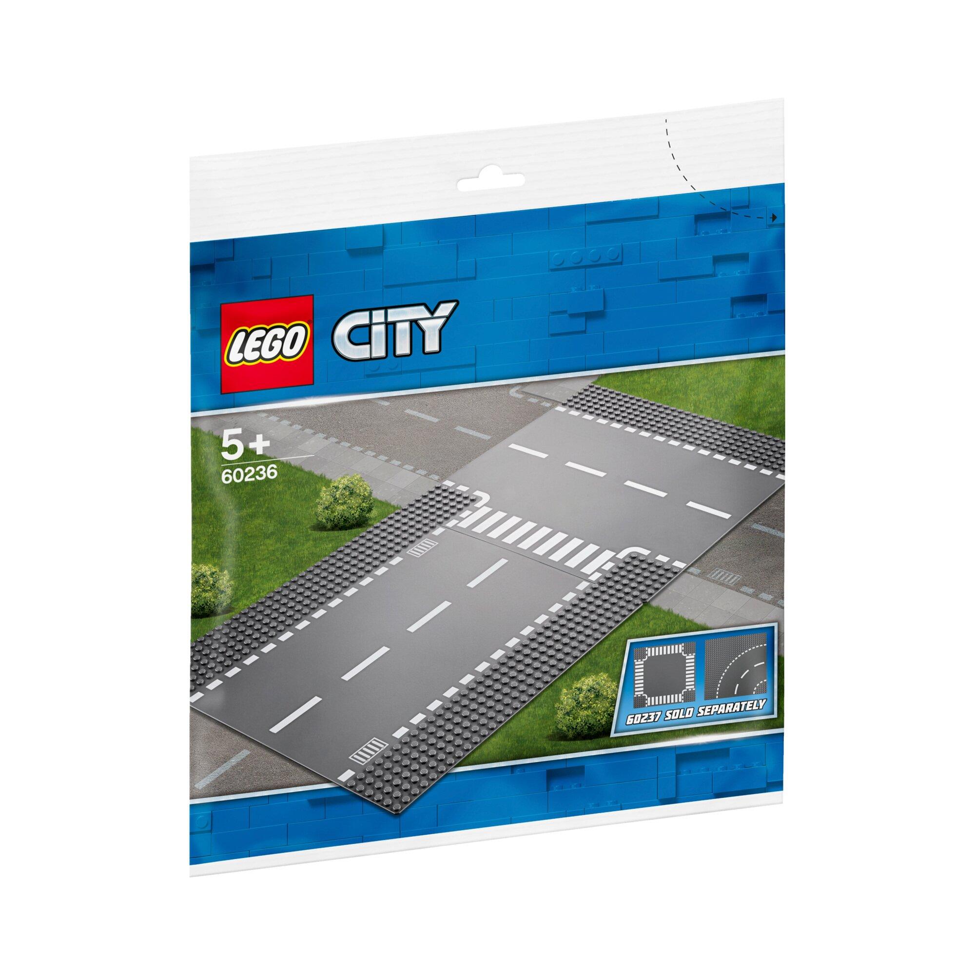 City 60236 Gerade und T-Kreuzung