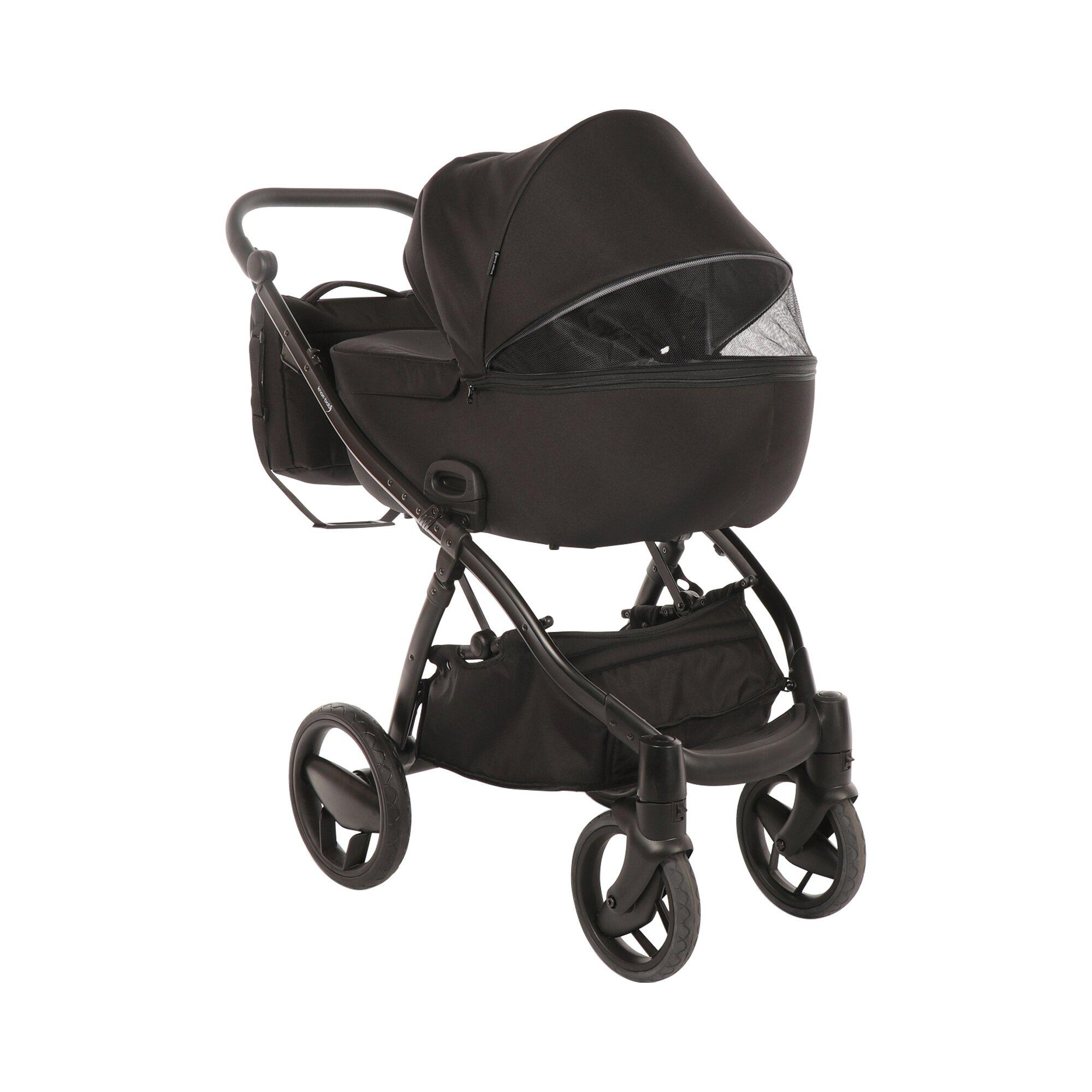 knorr-baby-piquetto-uni-kombikinderwagen-schwarz