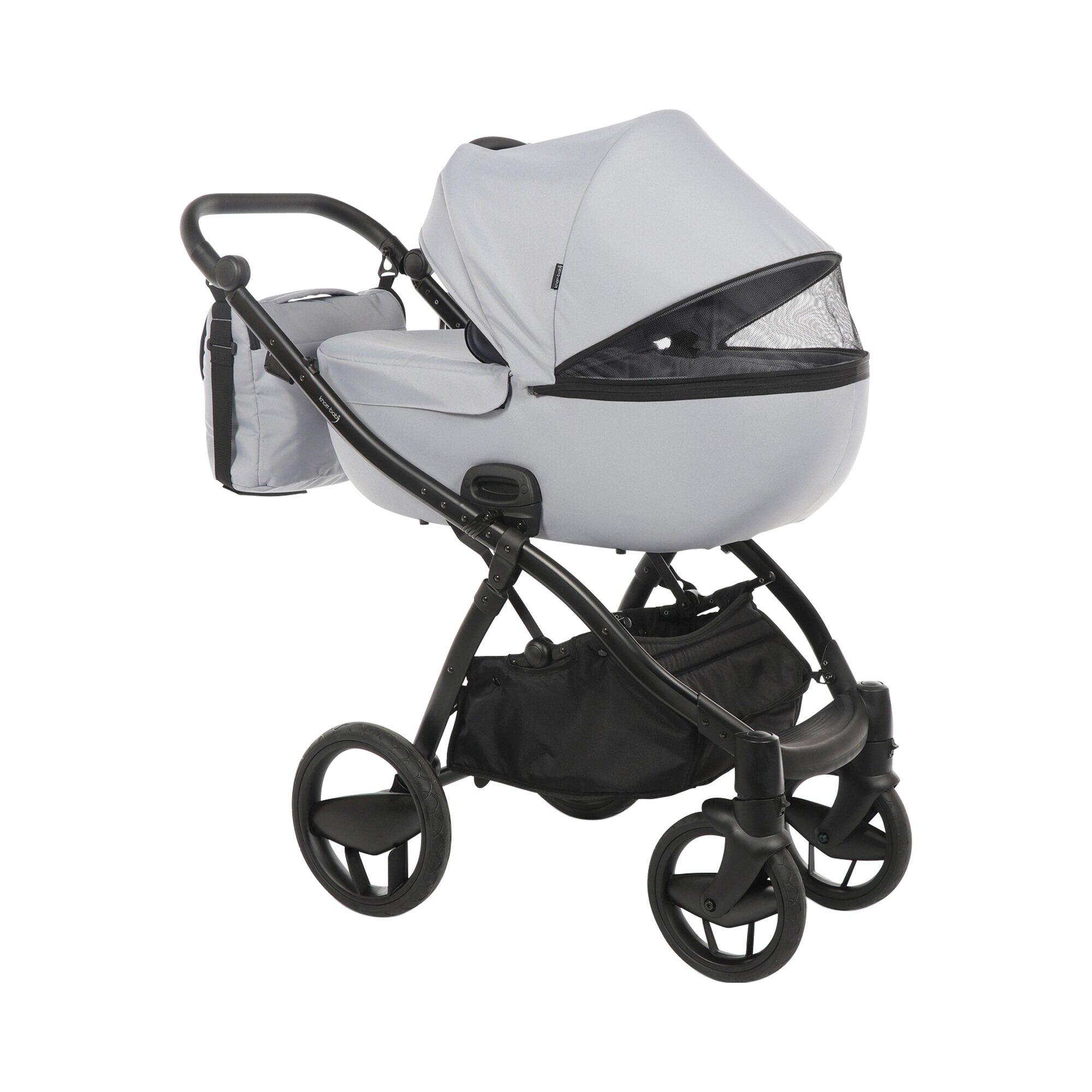 knorr-baby-piquetto-uni-kombikinderwagen-grau