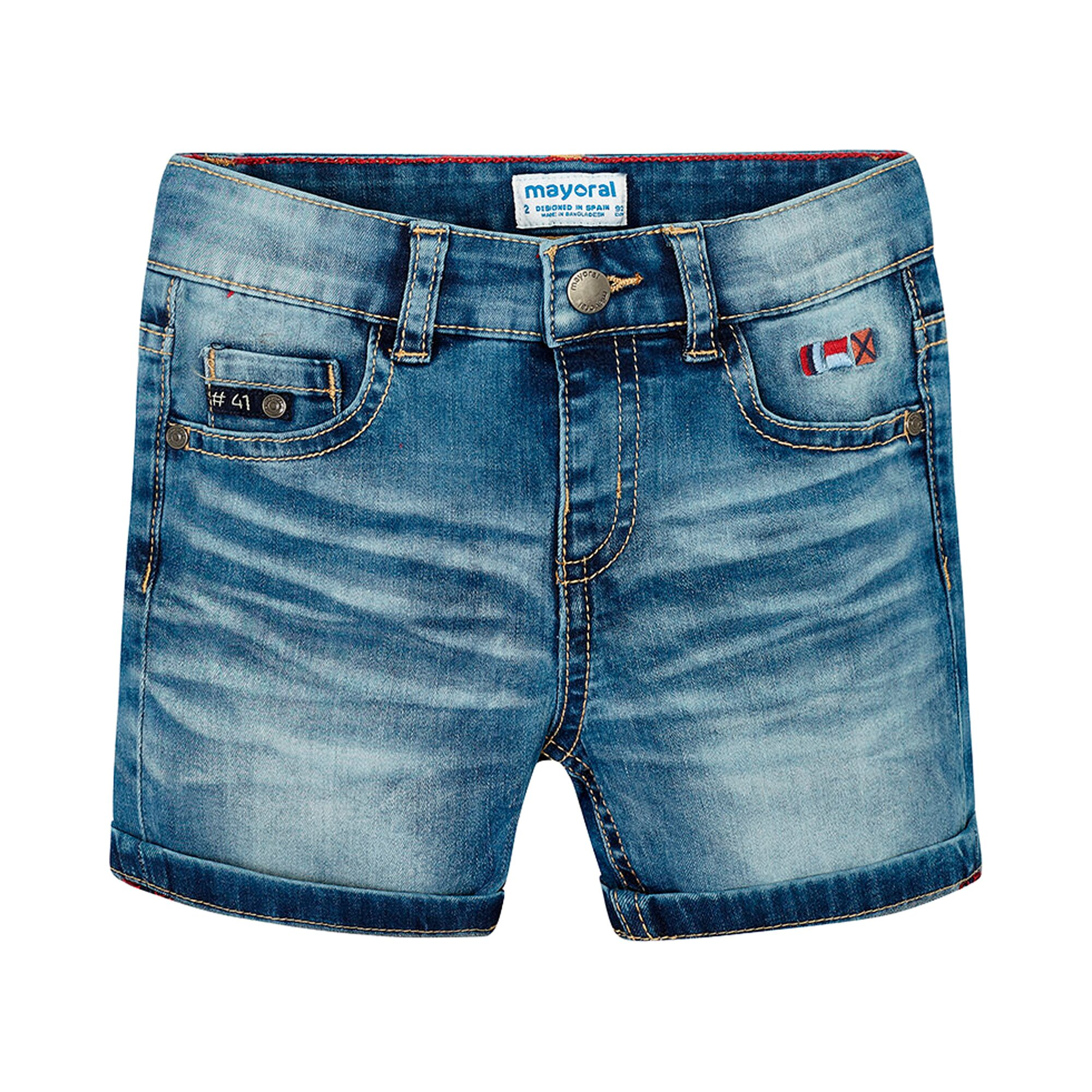 Mayoral Jeans-Bermuda 5 Pocket