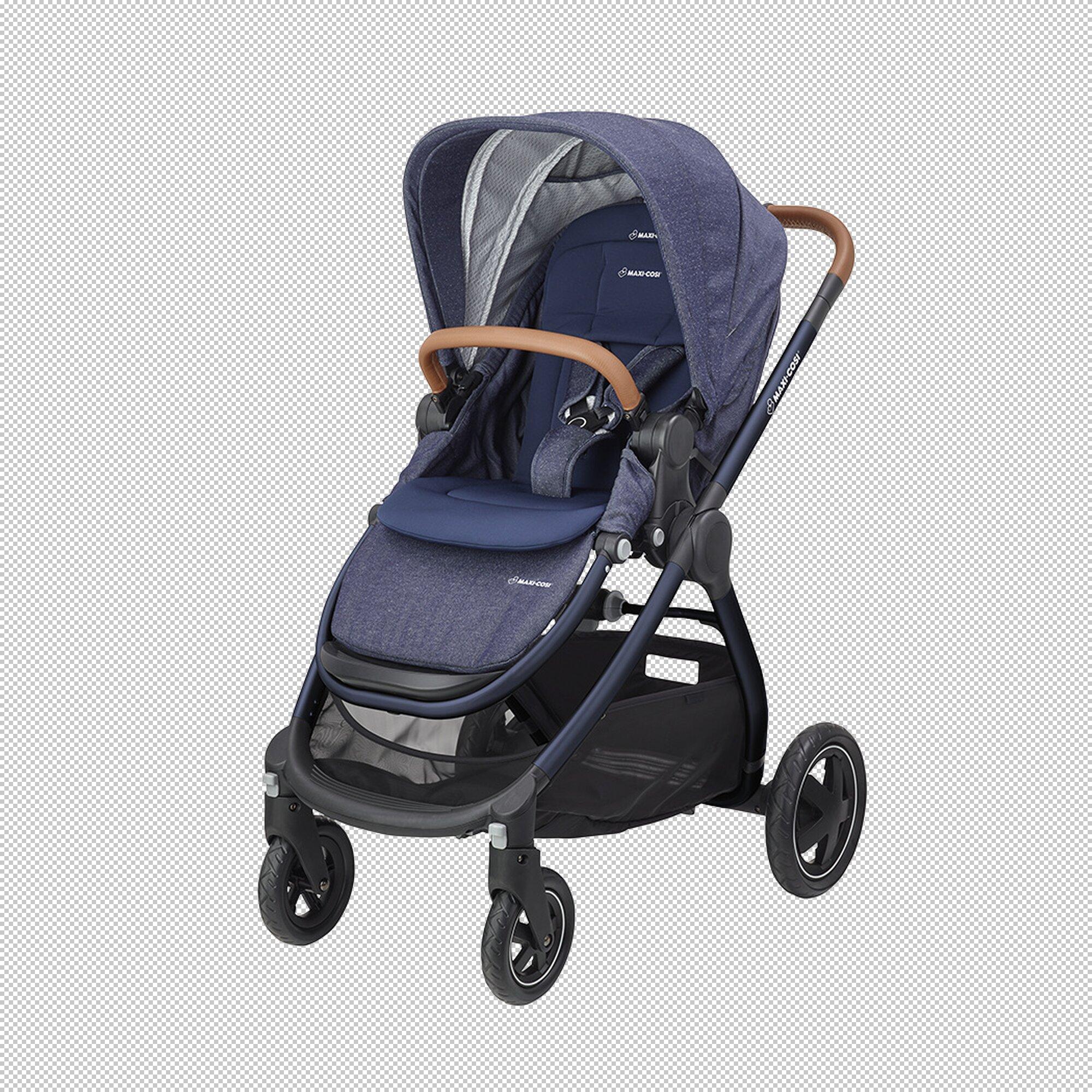 Adorra Kinderwagen blau