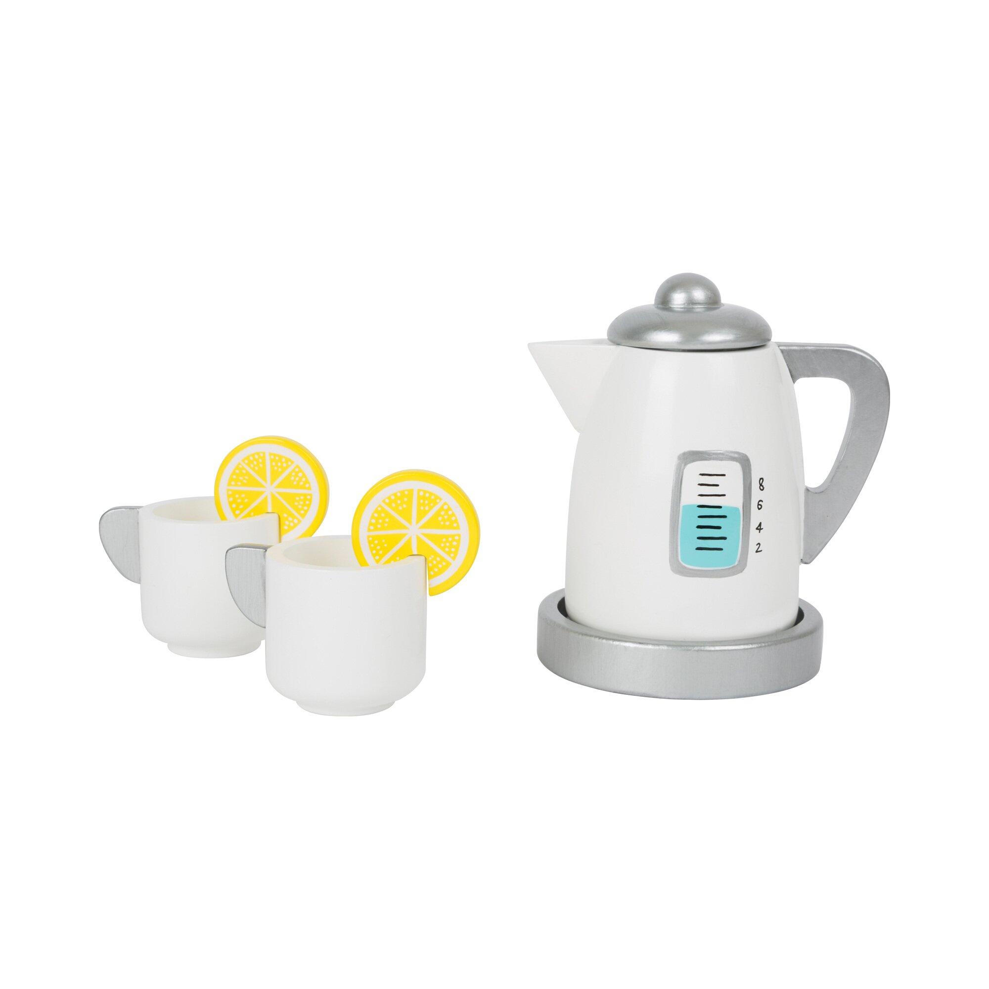 Small Foot Tee-Set mit Wasserkocher aus Holz