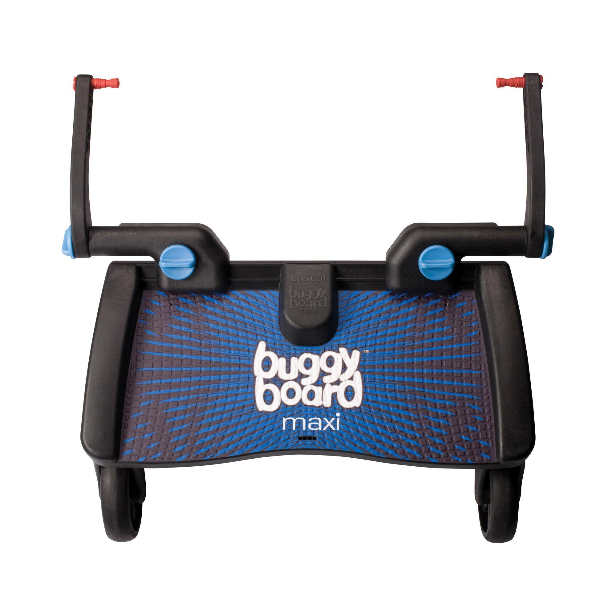 Lascal Buggy-Board Maxi für Kinderwagen, Kinderwagen Jogger, Buggy blau