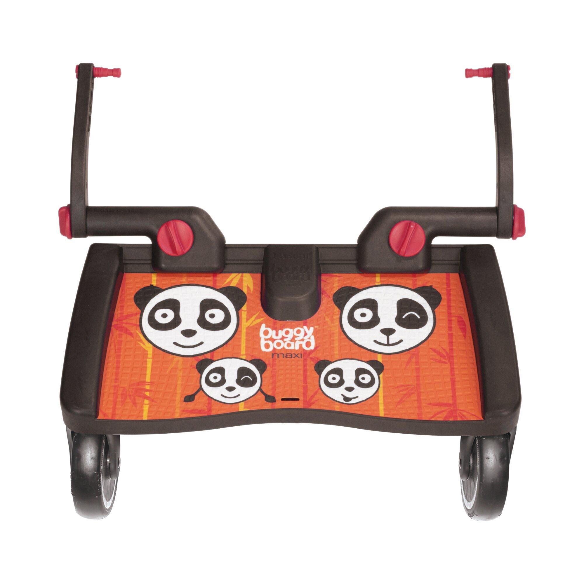 Lascal Buggy-Board Maxi für Kinderwagen, Kinderwagen Jogger, Buggy orange