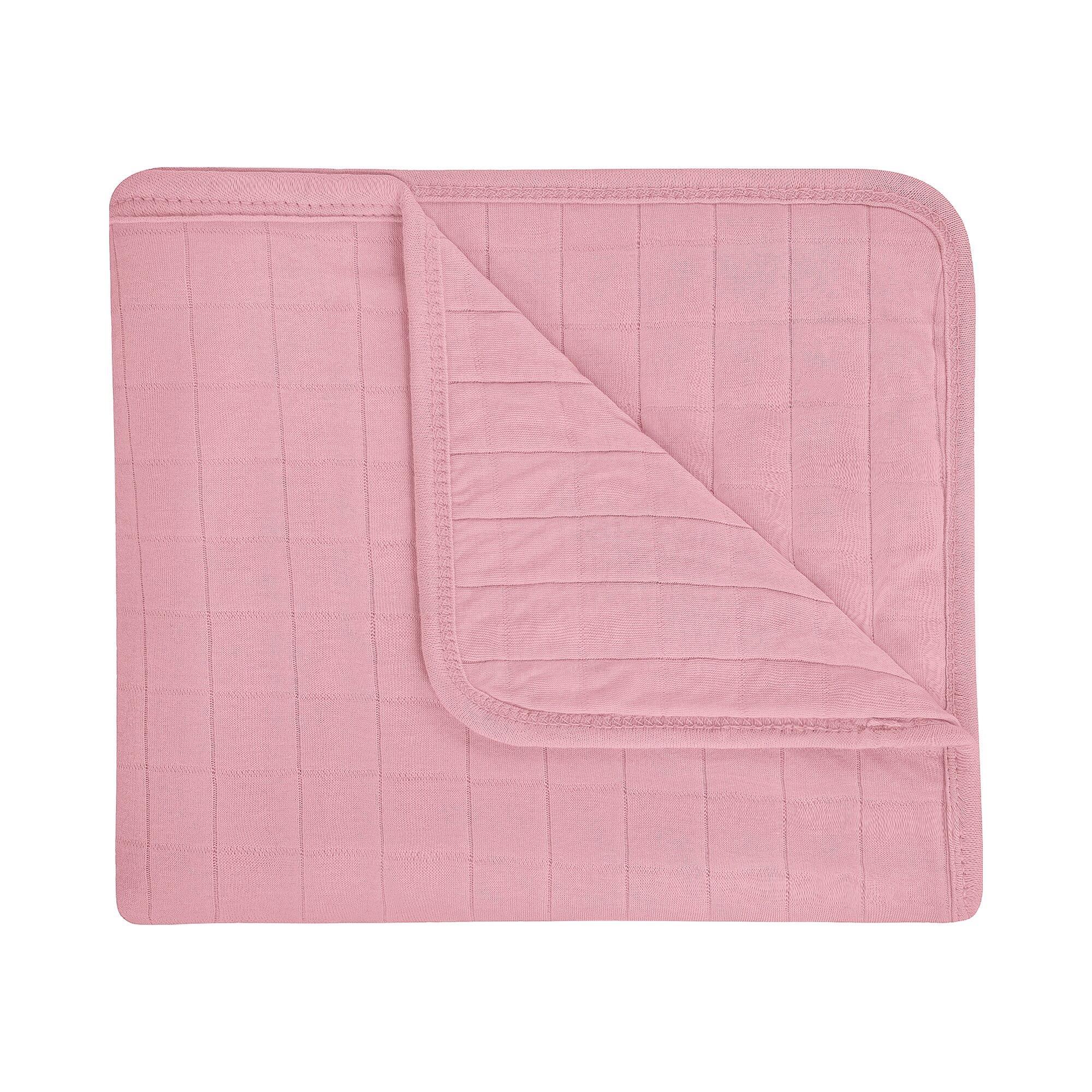 Julius Zöllner Babydecke Doppeljersey Premium 100x120 cm rosa