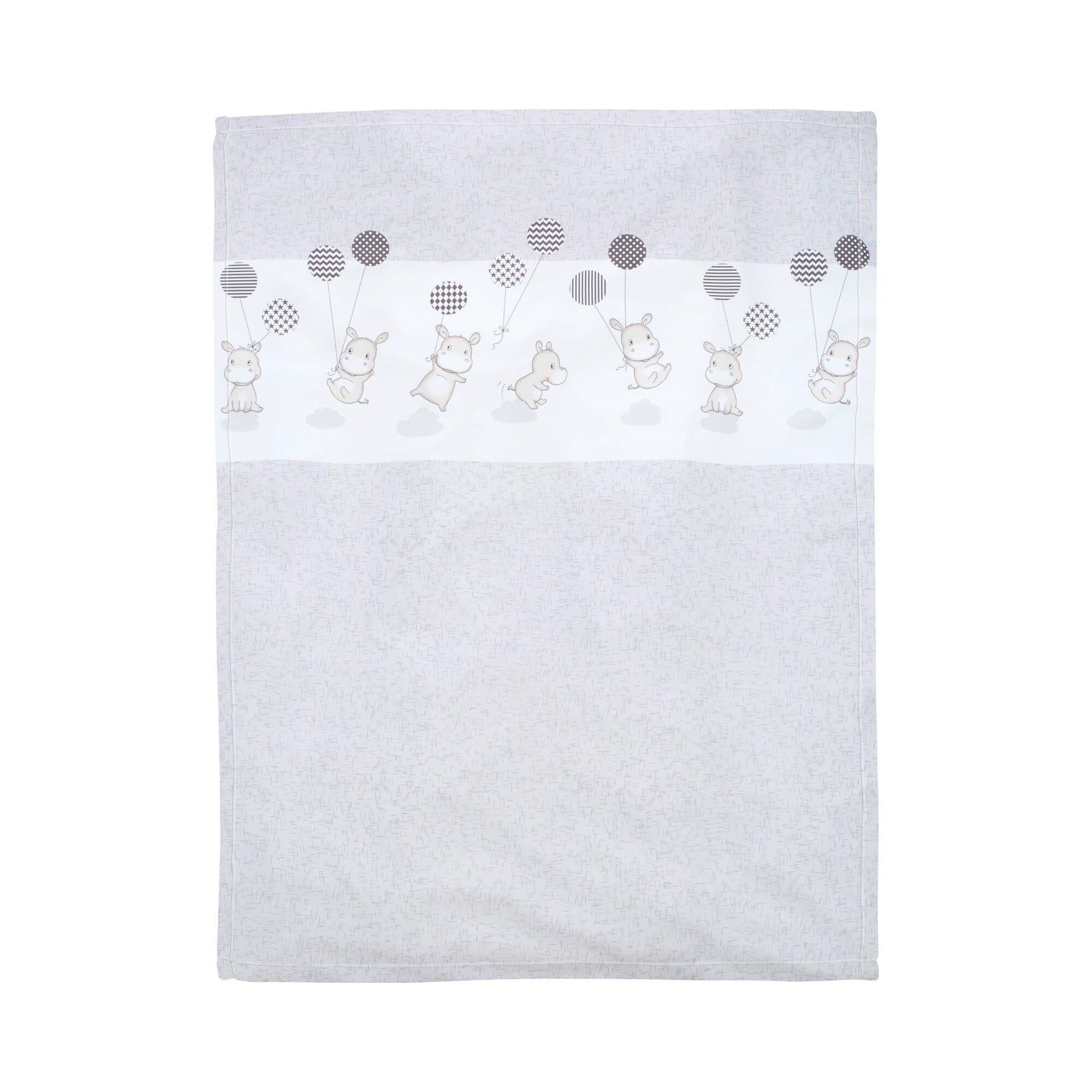 Alvi Babydecke mit UV-Schutz 50+ 75x100 cm silber