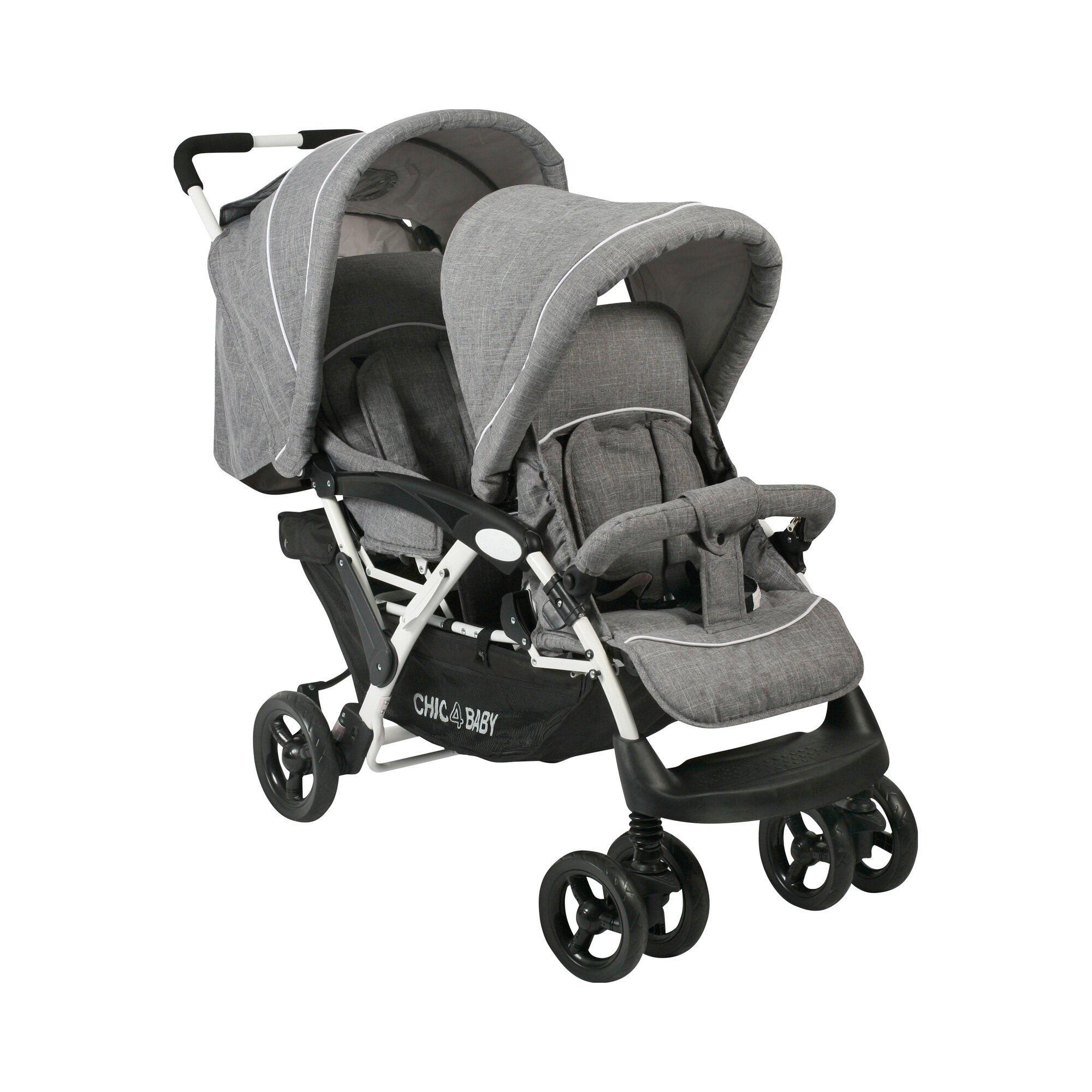 chic-4-baby-duo-zwillings-und-kinderwagen-geschwisterwagen-grau