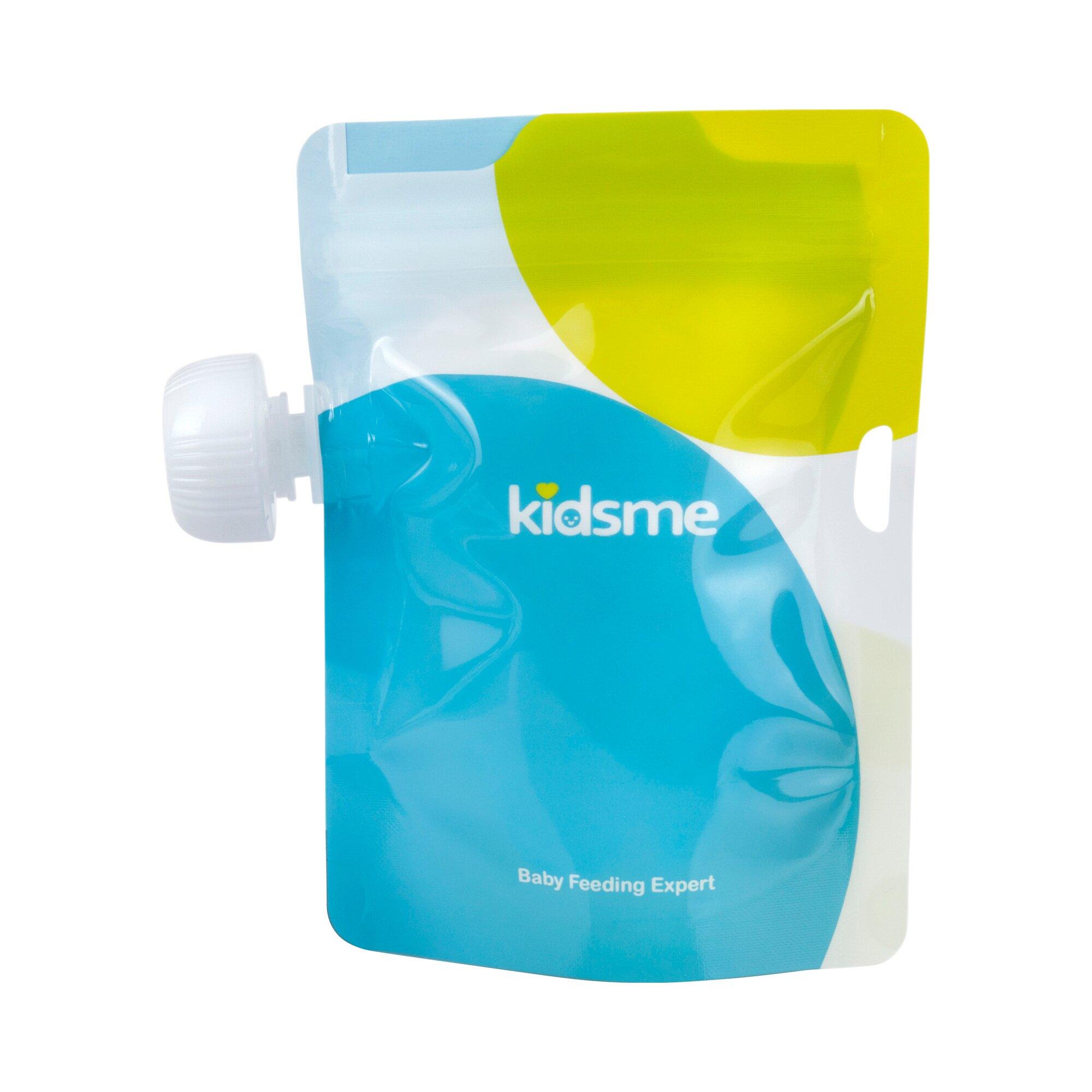 Kidsme 4er-Pack Quetschbeutel wiederbefüllbar