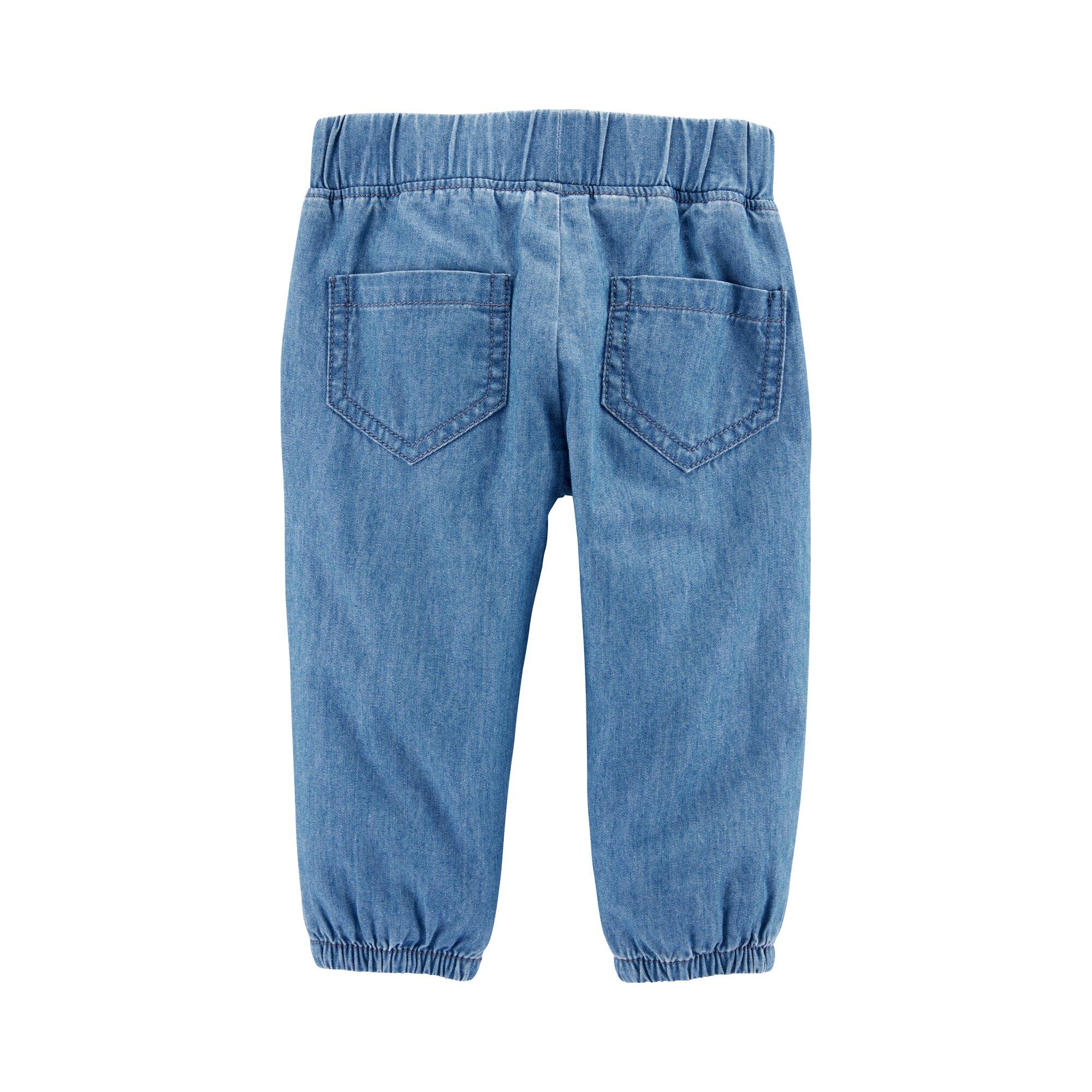 carter-s-2-tlg-set-tunika-mit-flugelarm-und-jeans-blumen