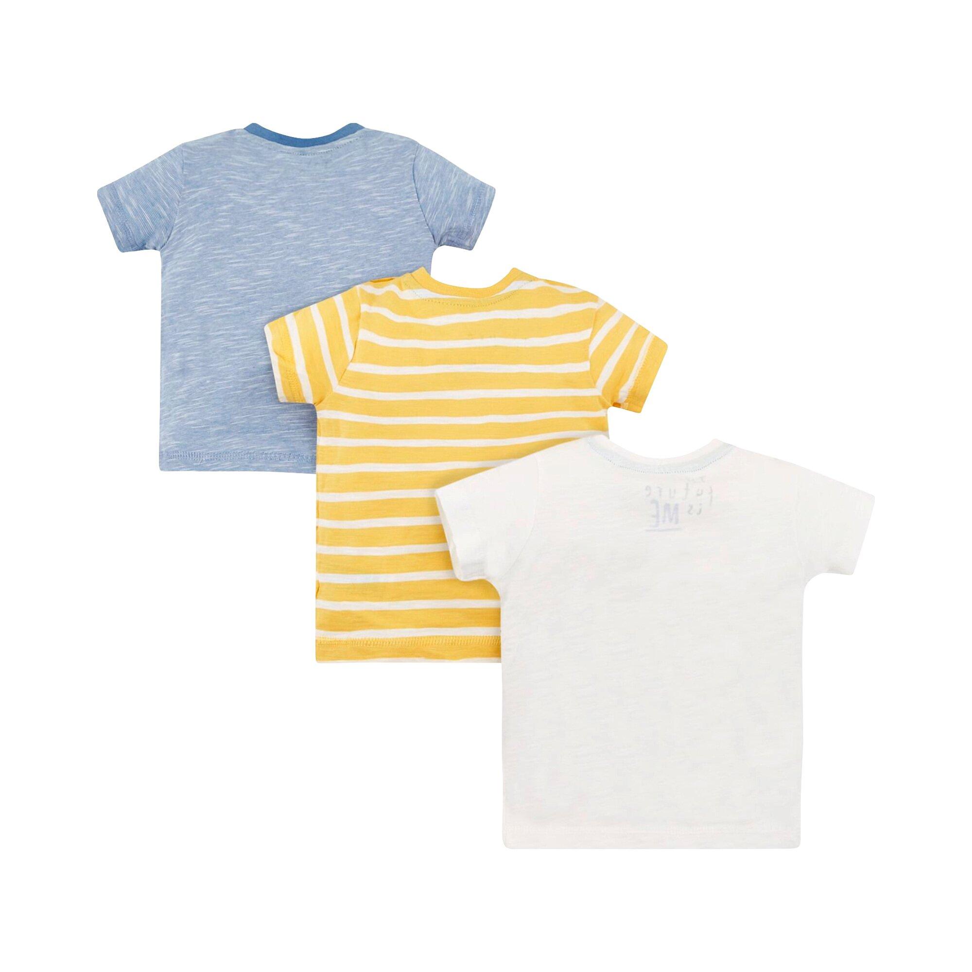 mothercare-3er-pack-t-shirts-dino-ringel