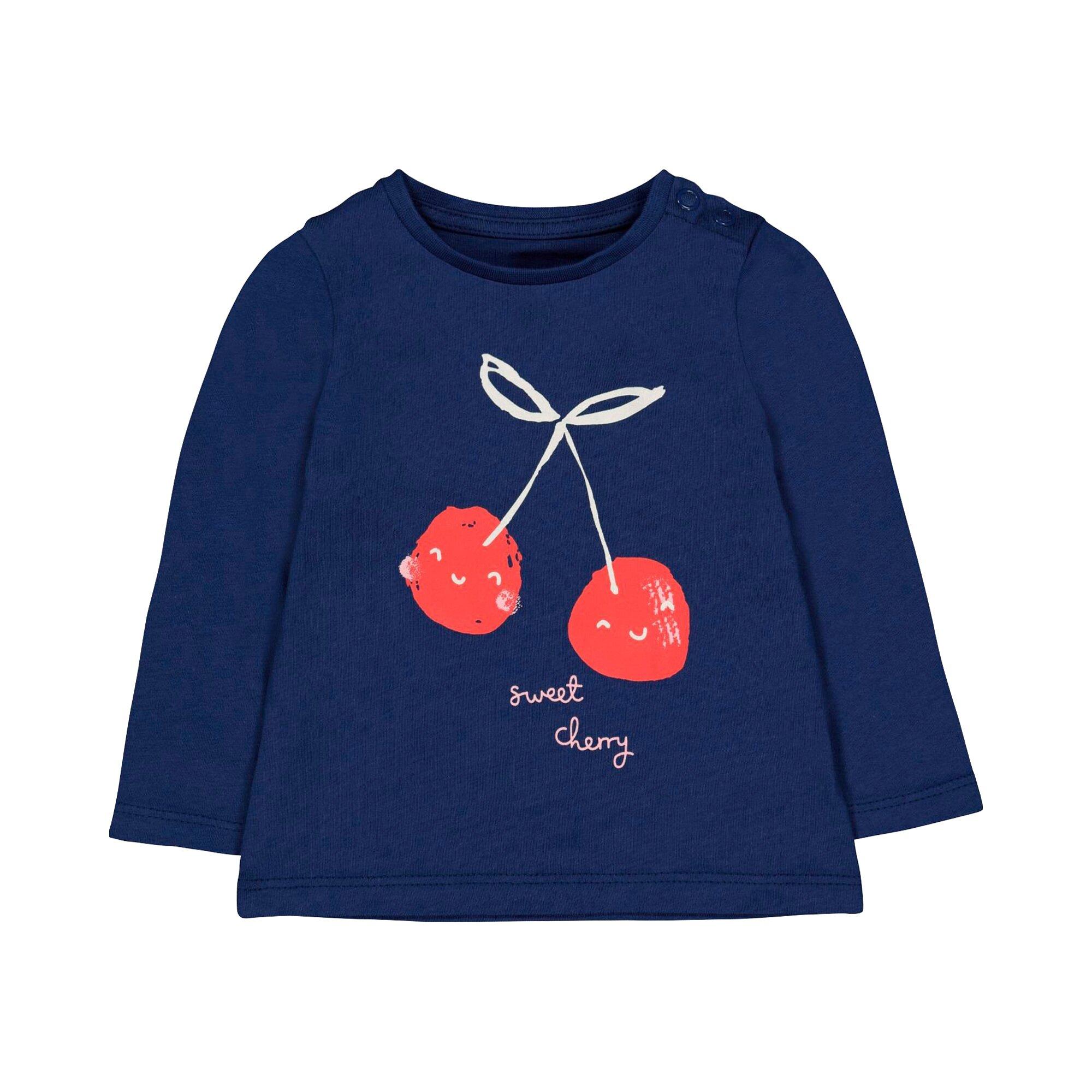 Mothercare Shirt langarm Kirsche