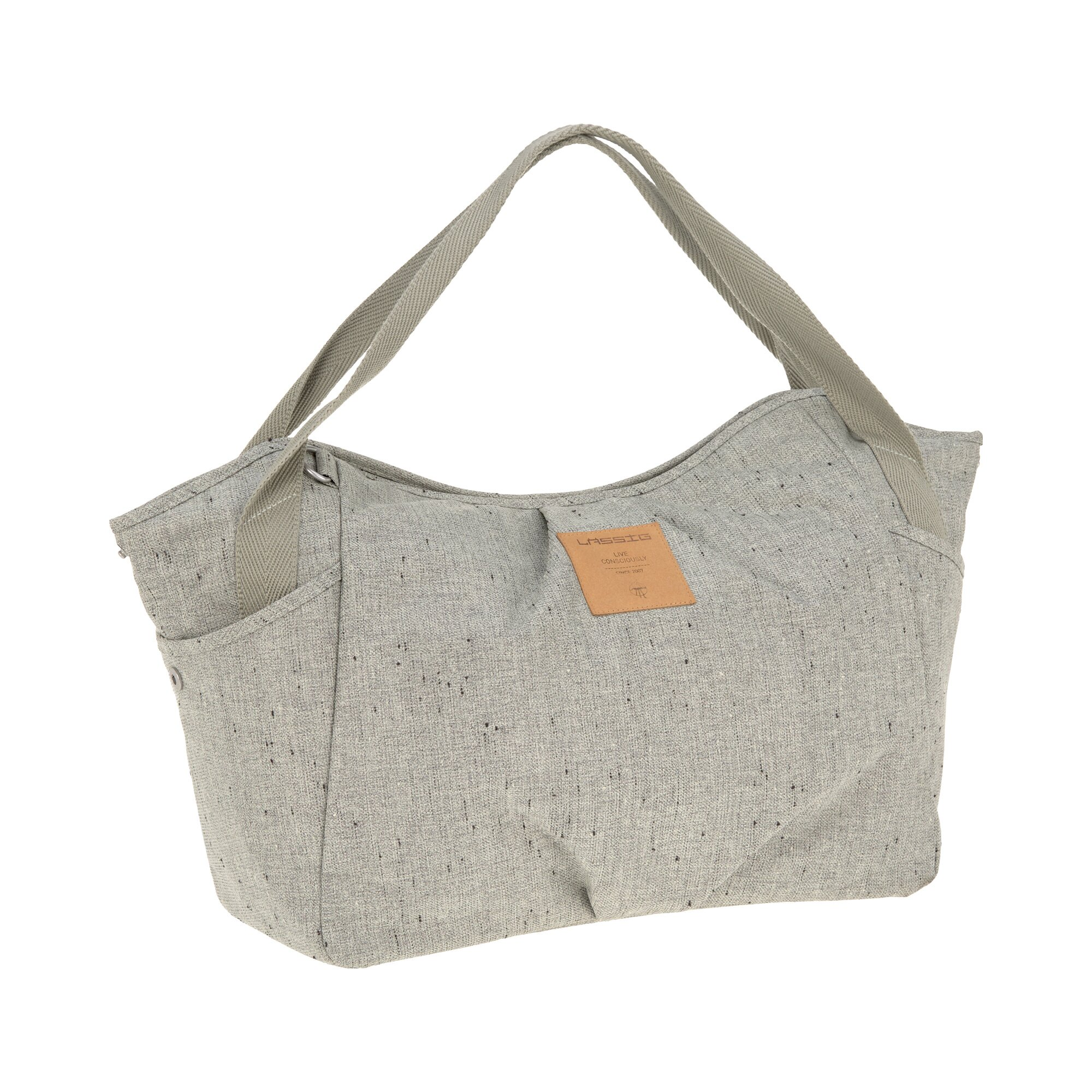 Casual Wickeltasche Twin Bag beige