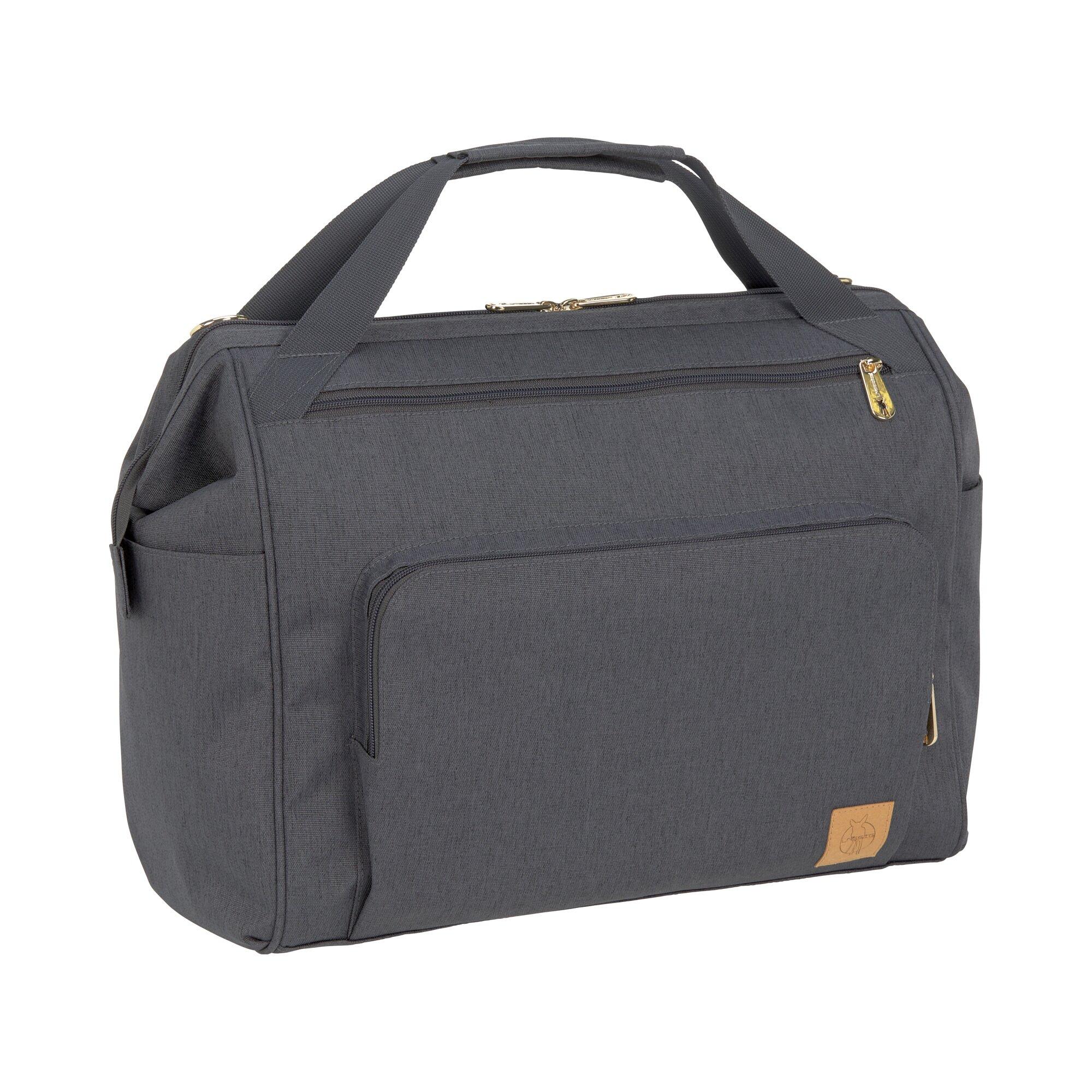 Glam Wickelrucksack Twin Backpack grau