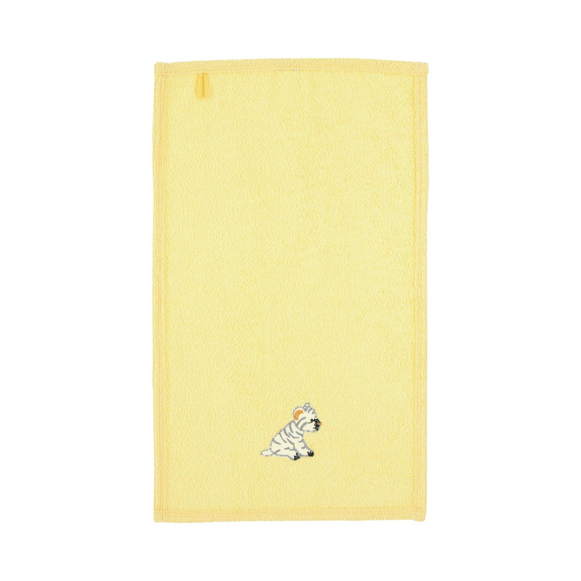 sterntaler-kinderhandtuch-30x50-cm-kuschelzoo-gelb