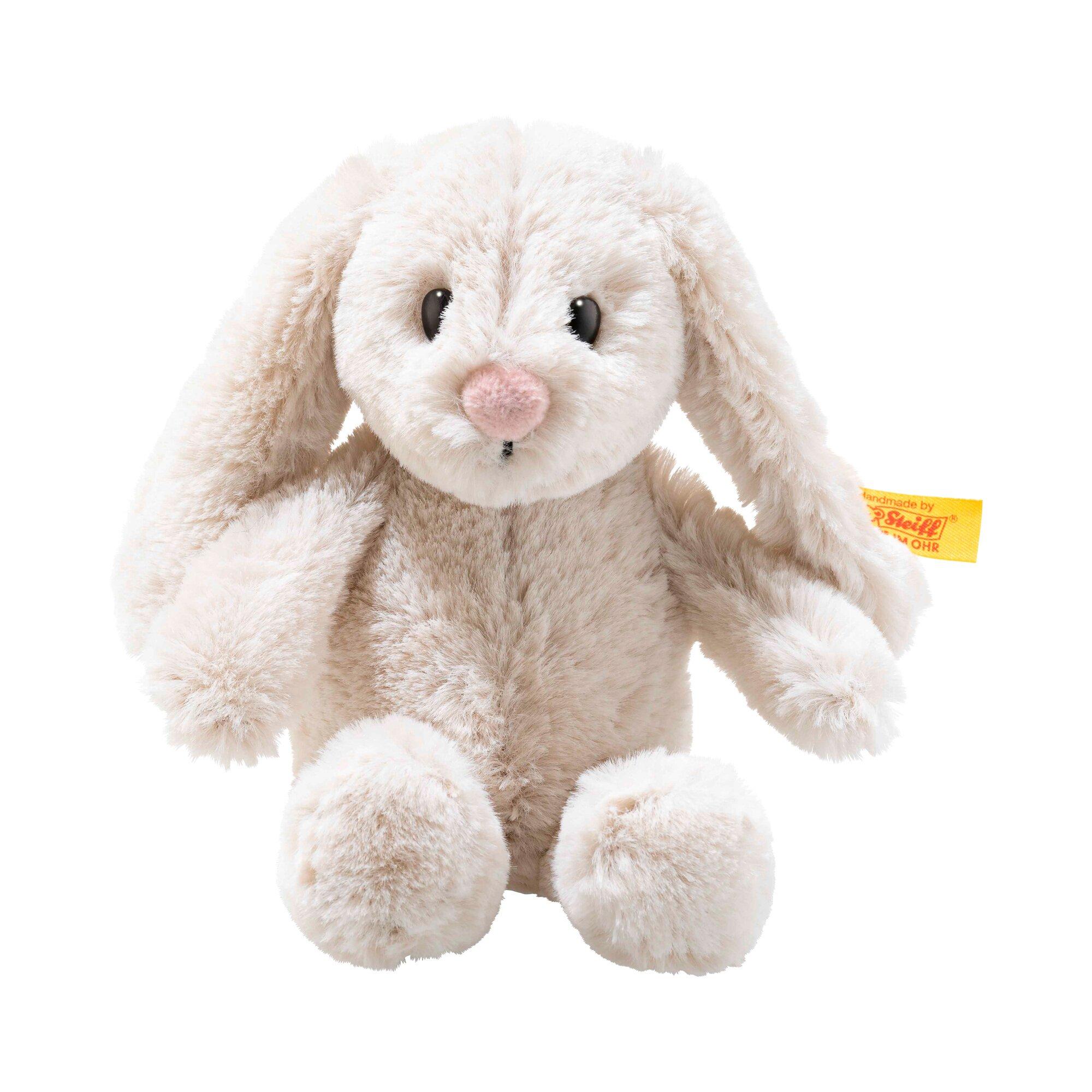 Steiff Kuscheltier Hoppie Hase Soft Cuddly Friends 16cm