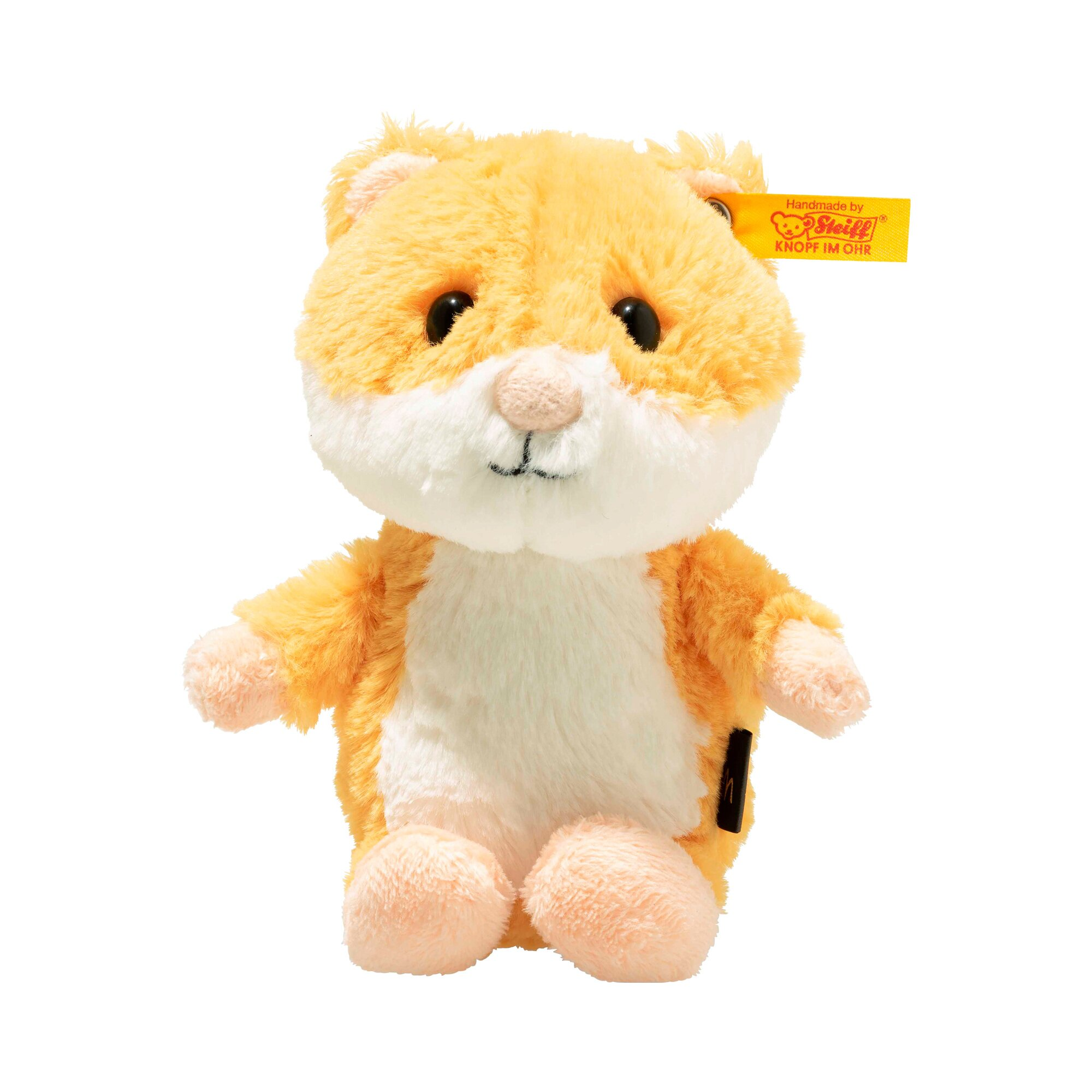 Steiff Kuscheltier Happy Hamster Soft Cuddly Friends 14cm