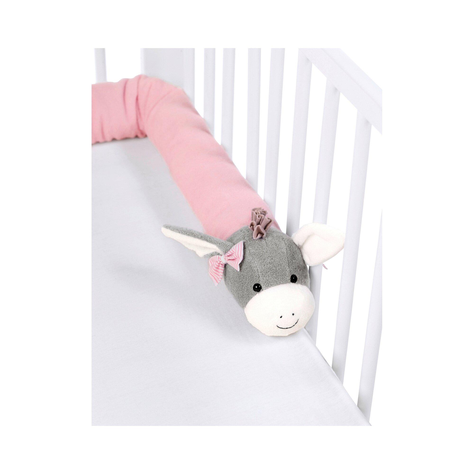 sterntaler-nestchenschlange-180-cm-esel-rosa
