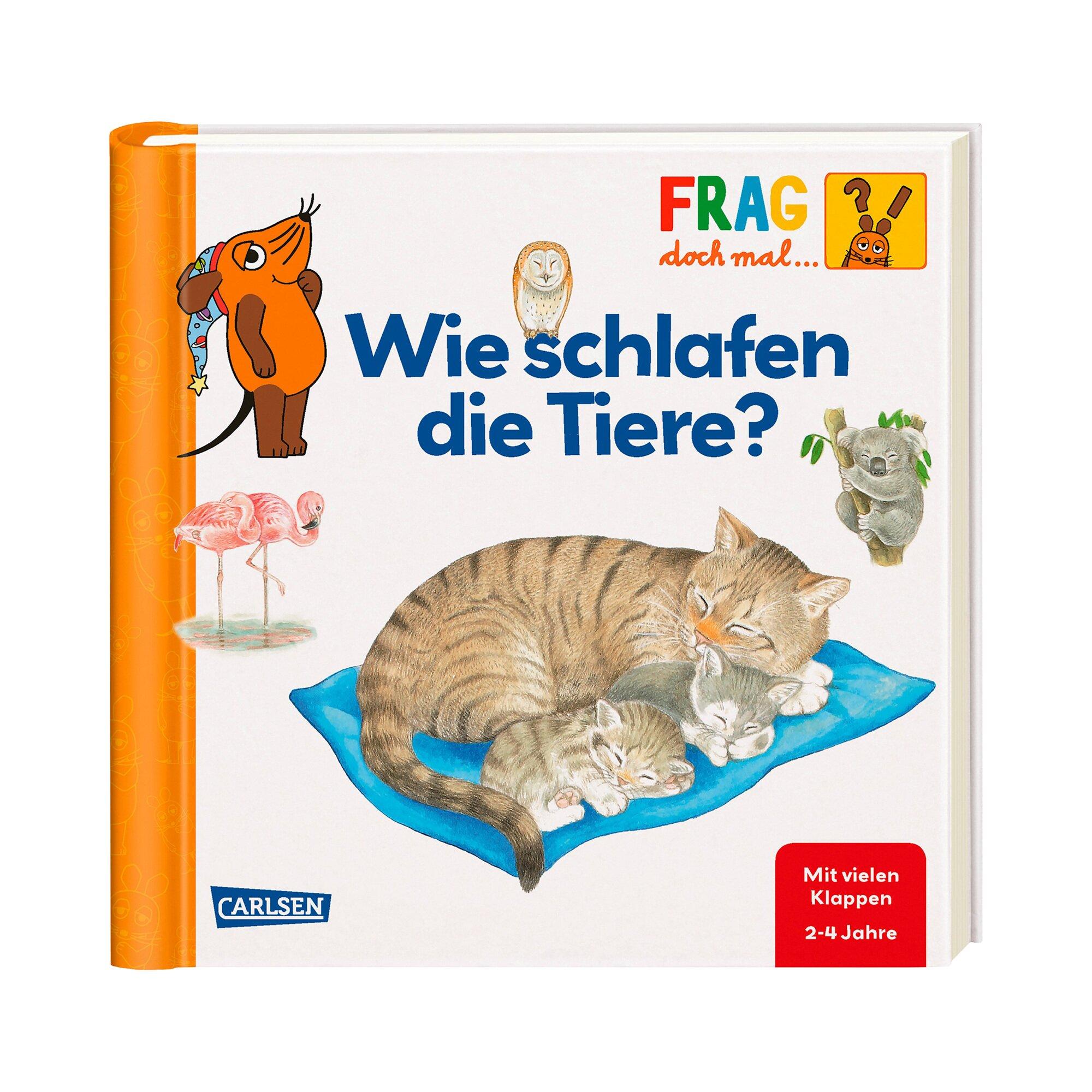 Carlsen Verlag Sachbuch Frag doch mal die Maus - Wie schlafen die Tiere?