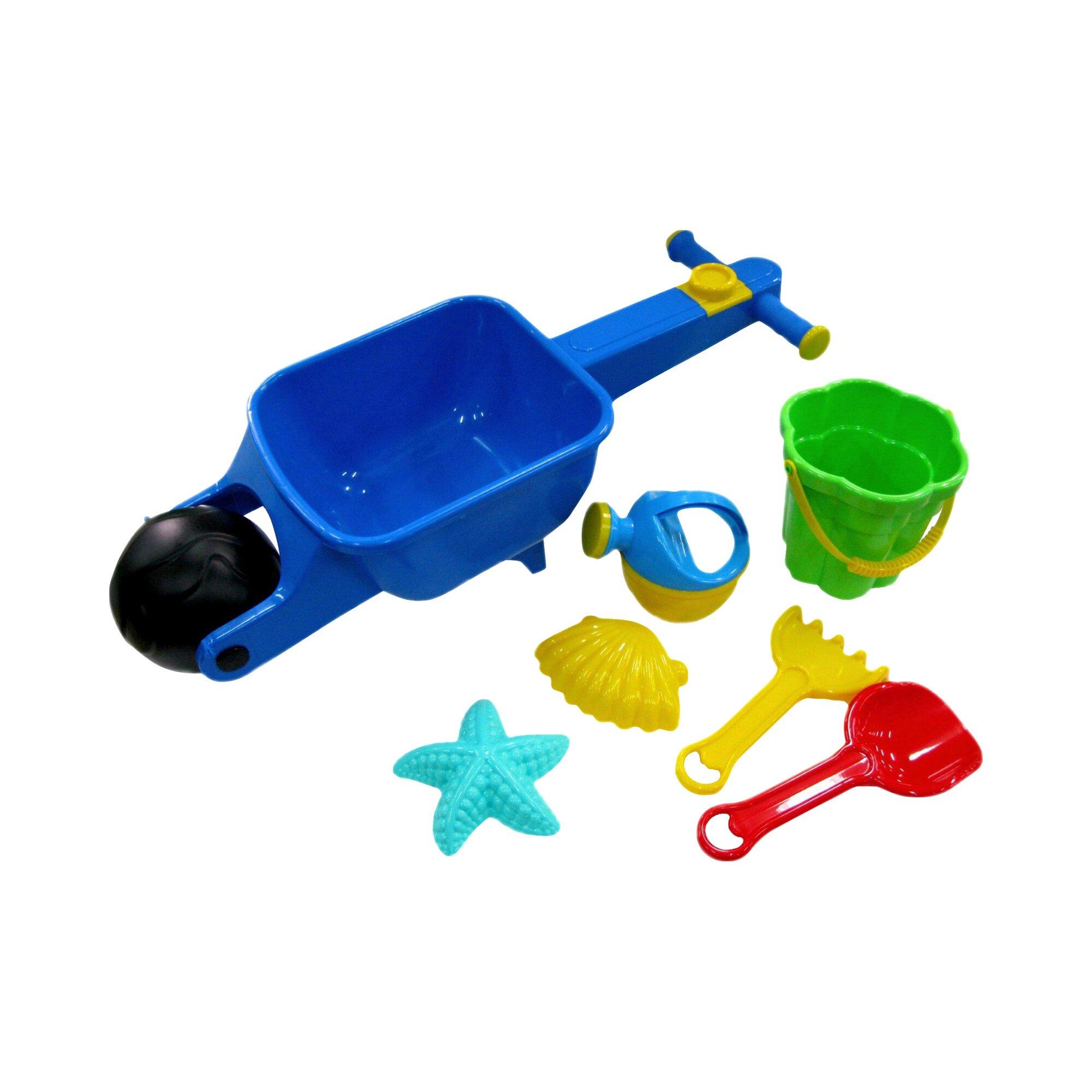 Wader Sandspielzeug Baby-Schubkarre