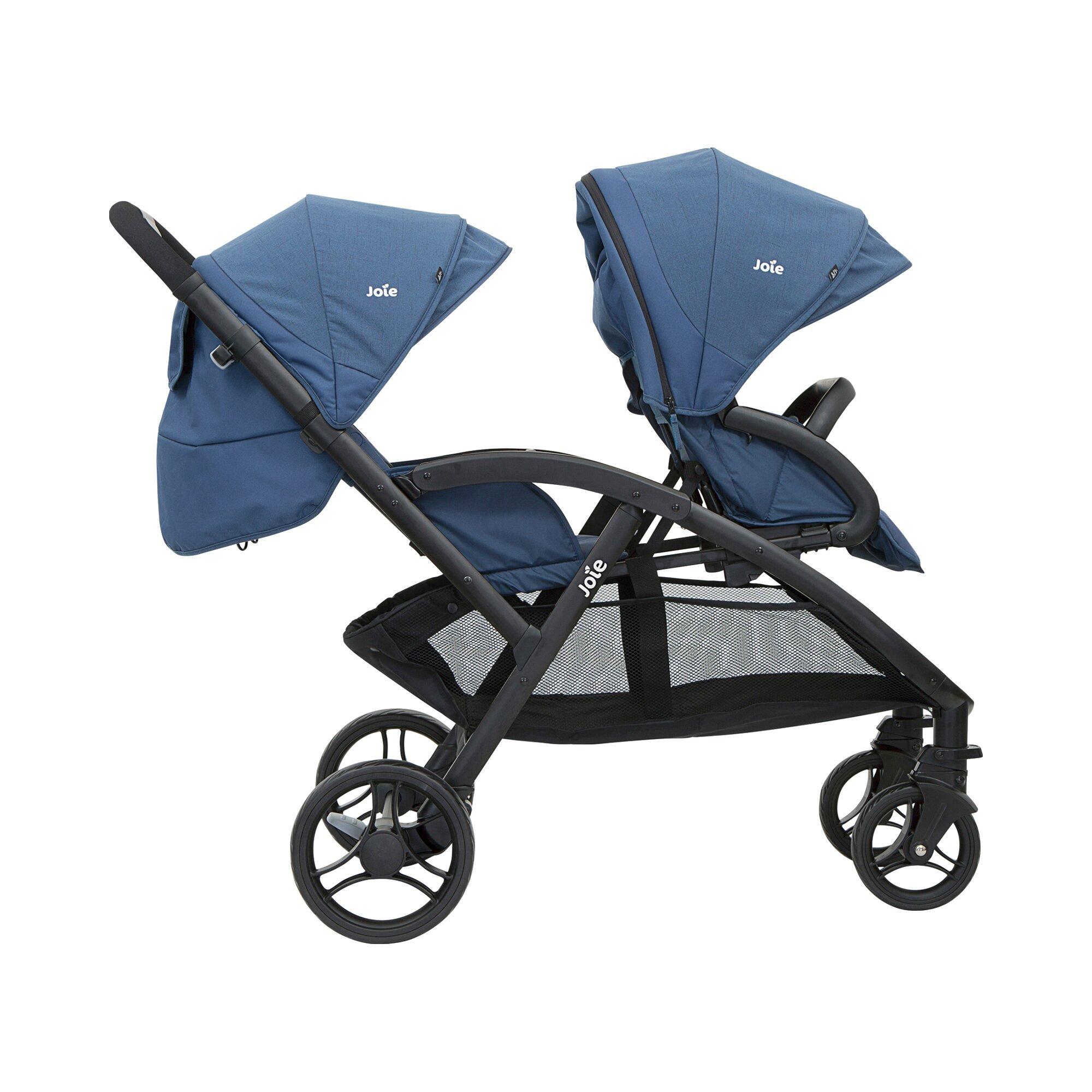 joie-evalite-duo-zwillings-und-kinderwagen-geschwisterwagen-blau