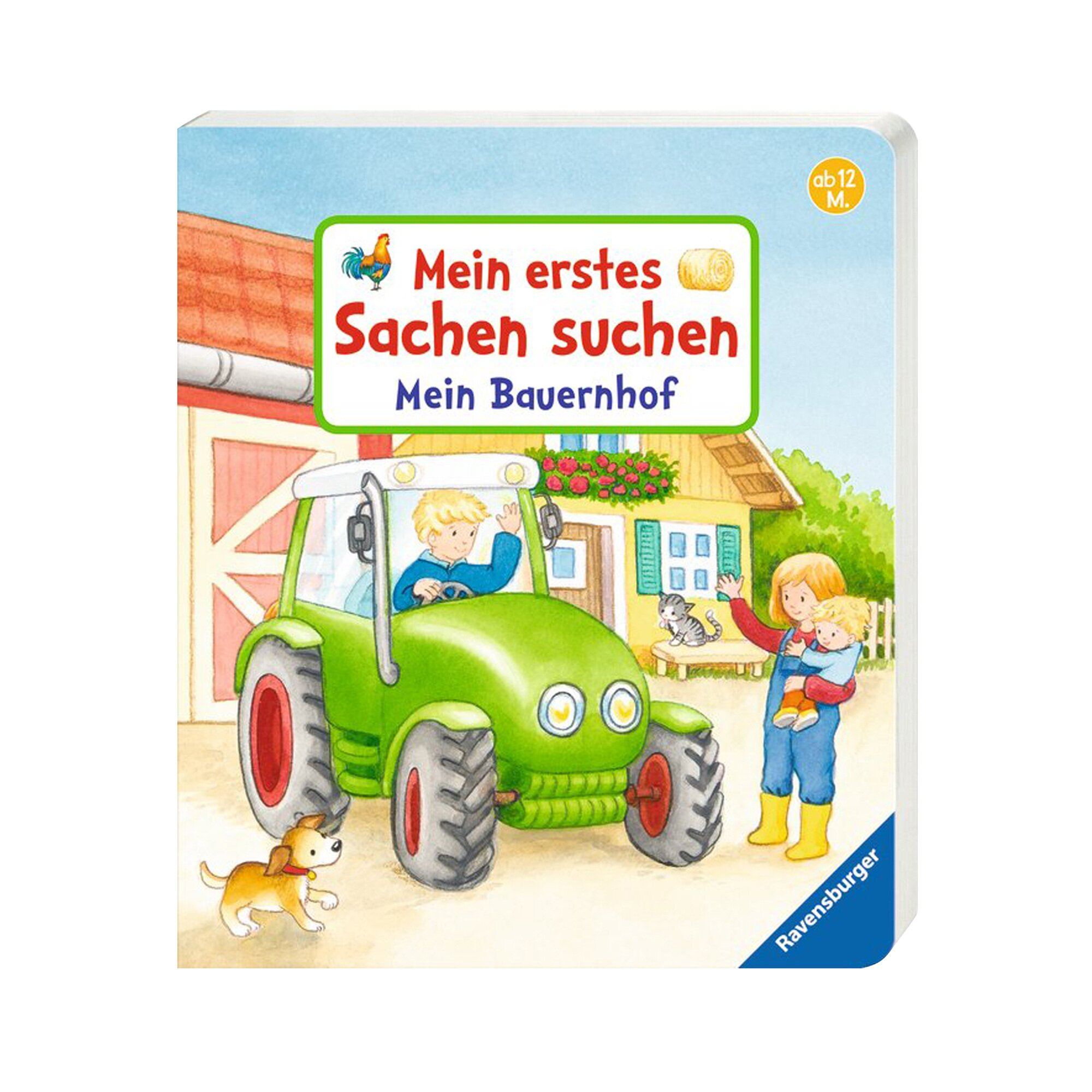 Pappbilderbücher Pappbilderbuch Mein erstes Sachen suchen: Mein Bauernhof